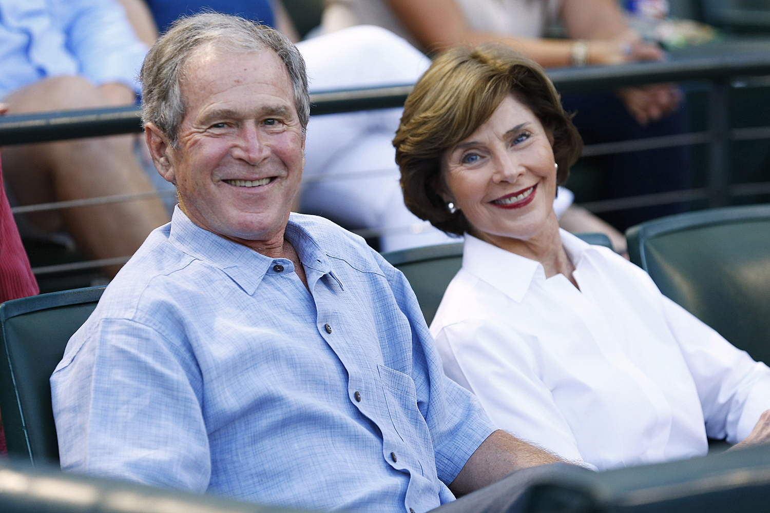 George W. and Laura Bush 'Look Forward' to Attending Joe Biden's  Inauguration | PEOPLE.com