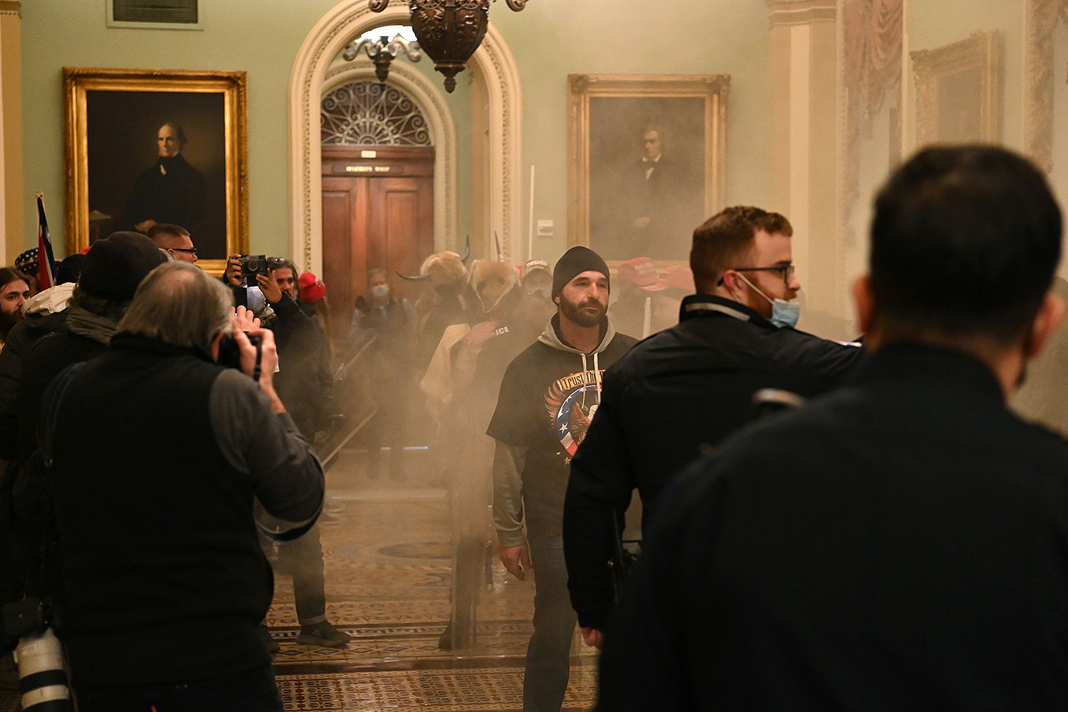 Protesters breach Capitol building