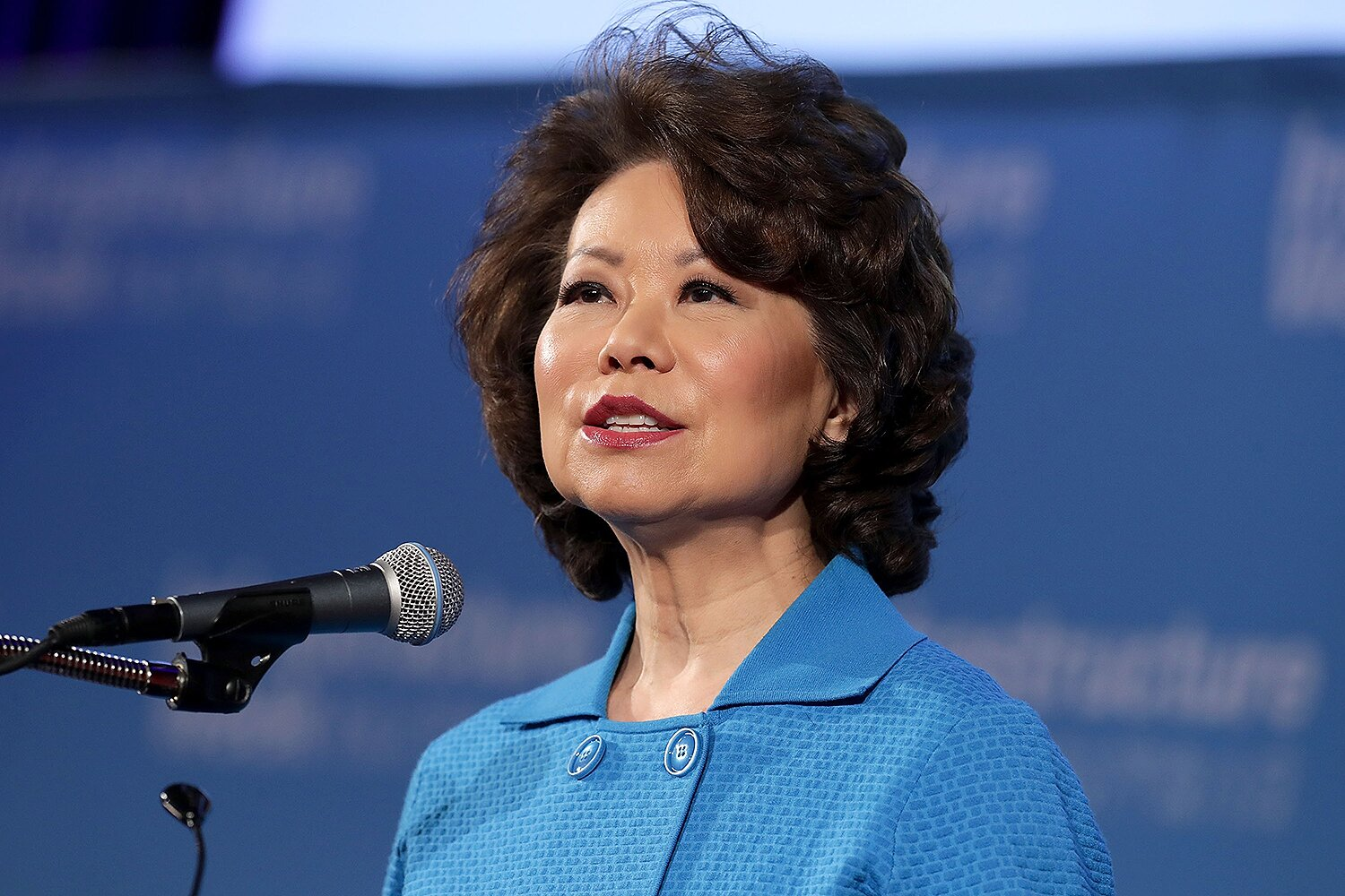 CREDIT: CHIP SOMODEVILLA/GETTY Elaine Chao