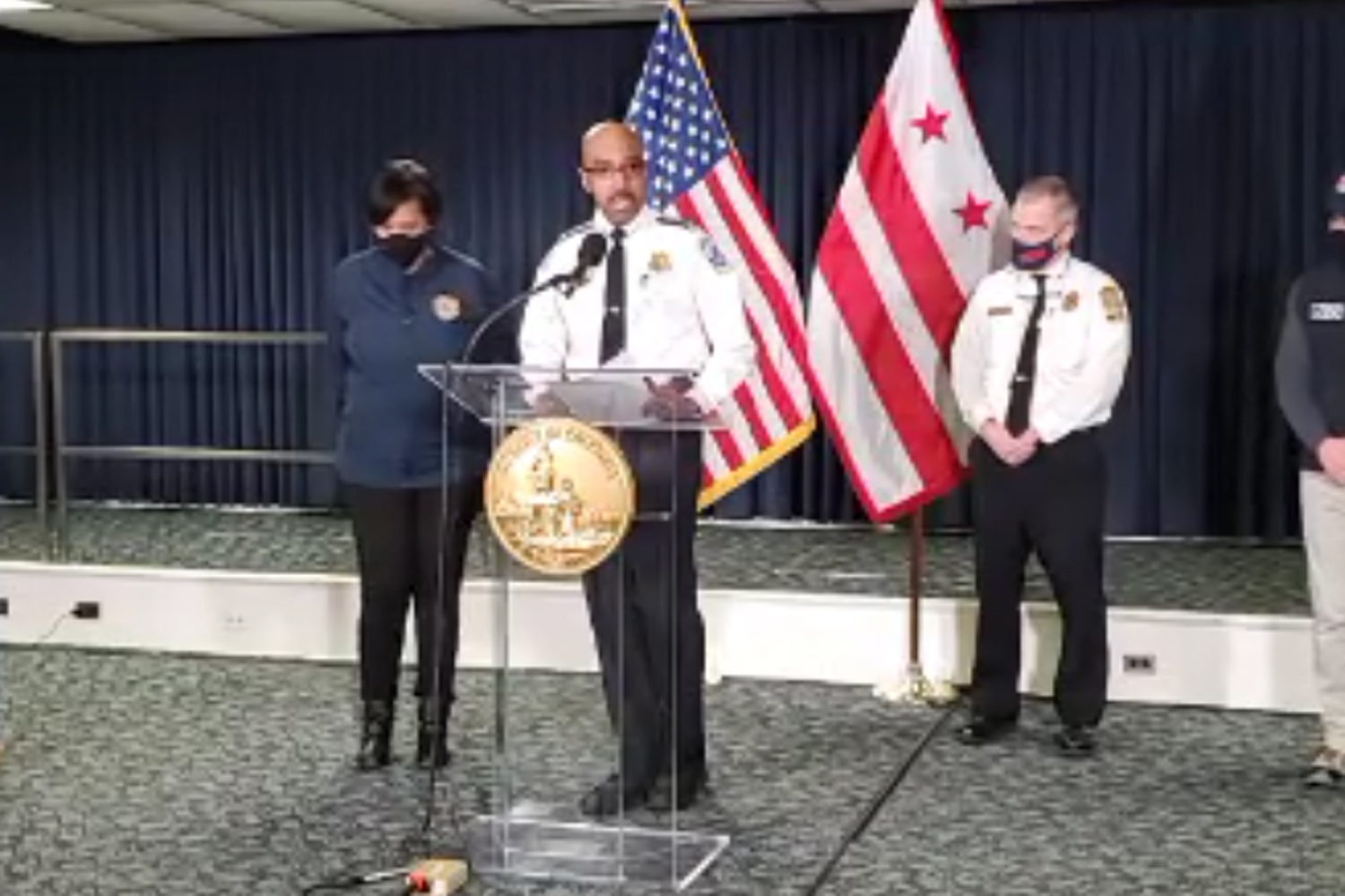 Chief Contee and @MayorBowser provide situational updates