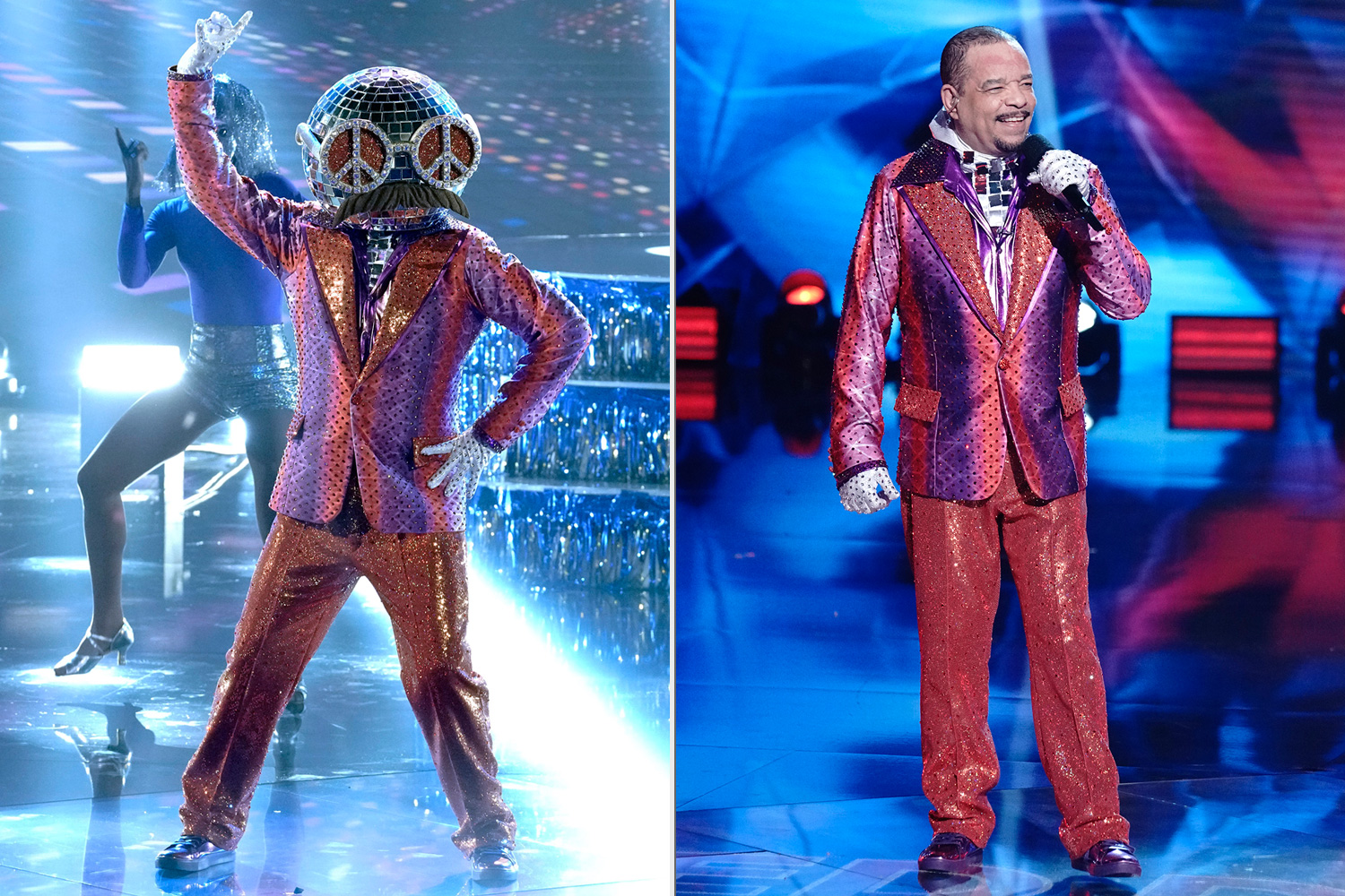The Masked Dancer Disco Ball Ice-T