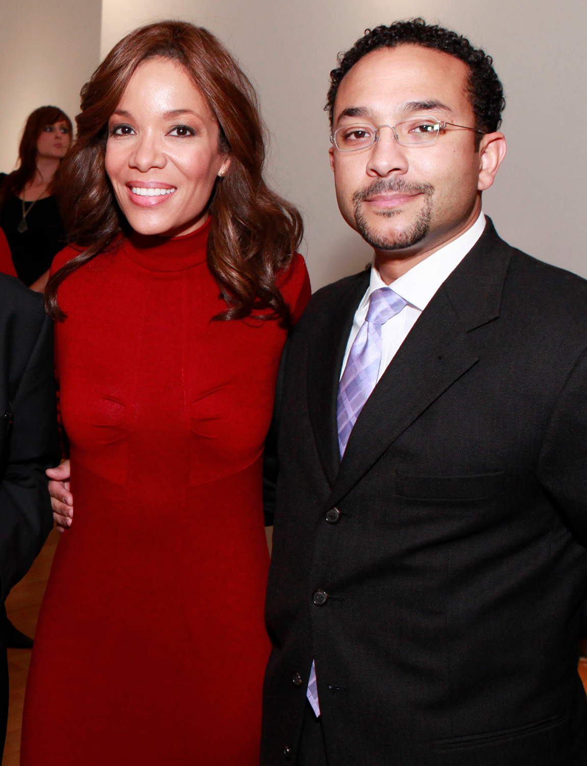 Sunny Hostin and Emmanuel Hostin
