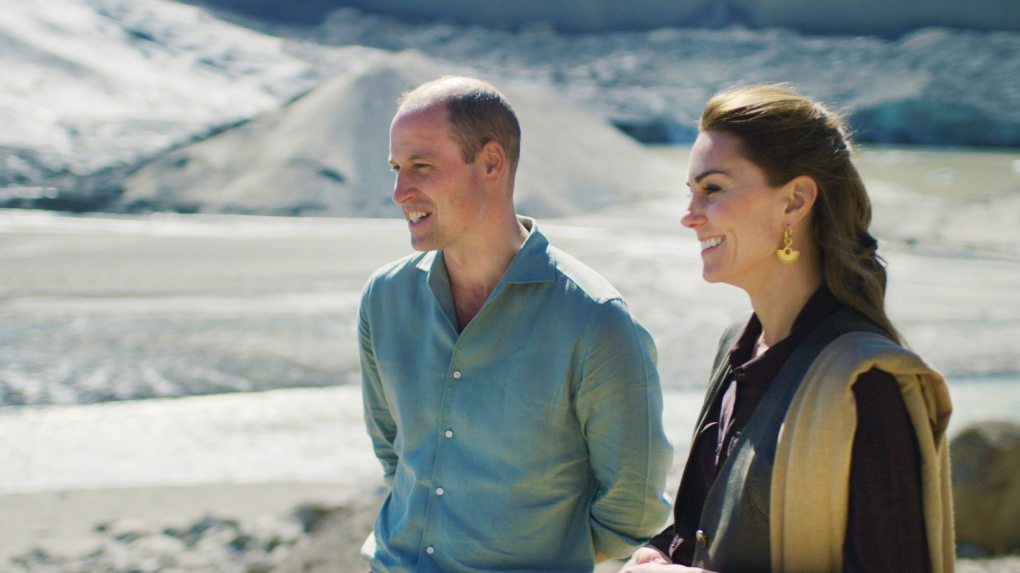 HRH Duke and Duchess of Cambridge in the Hindu Kush Range, Pakistan