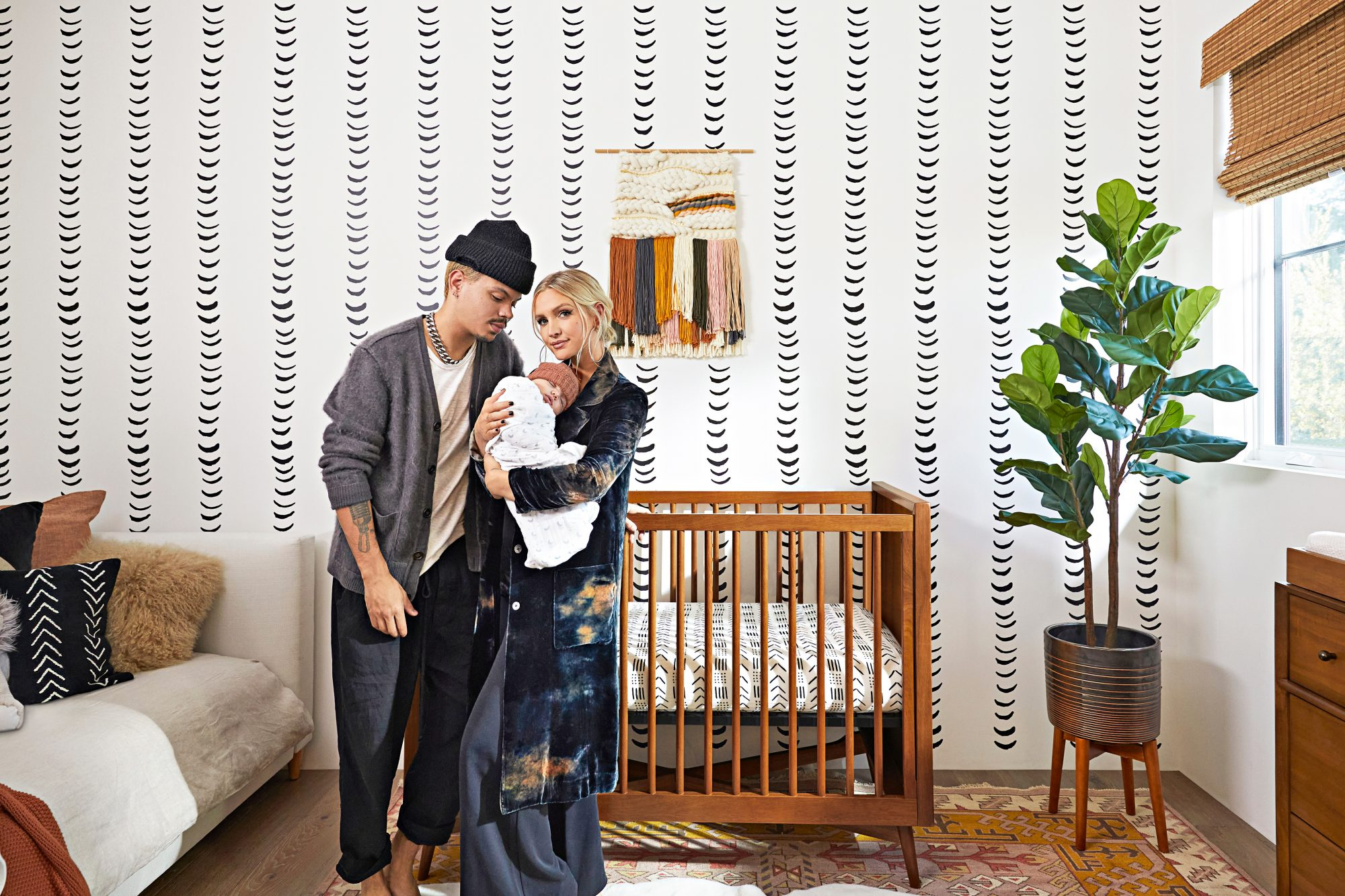 ashlee simpson ross and evan ross nursery tour