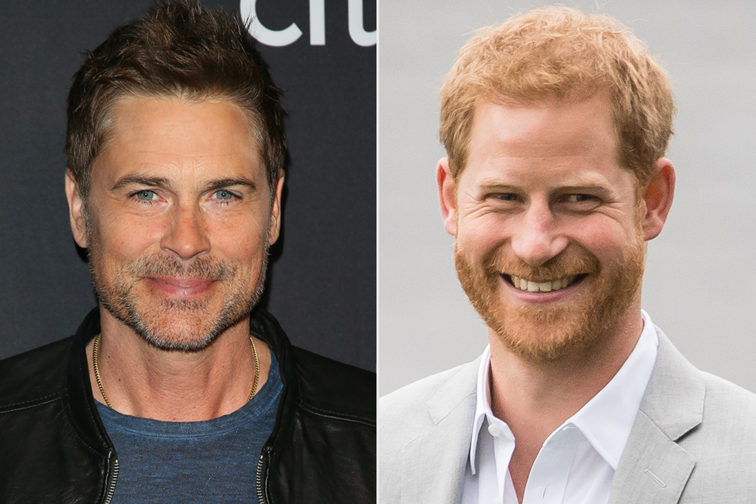 Rob Lowe; Prince Harry, Duke of Sussex