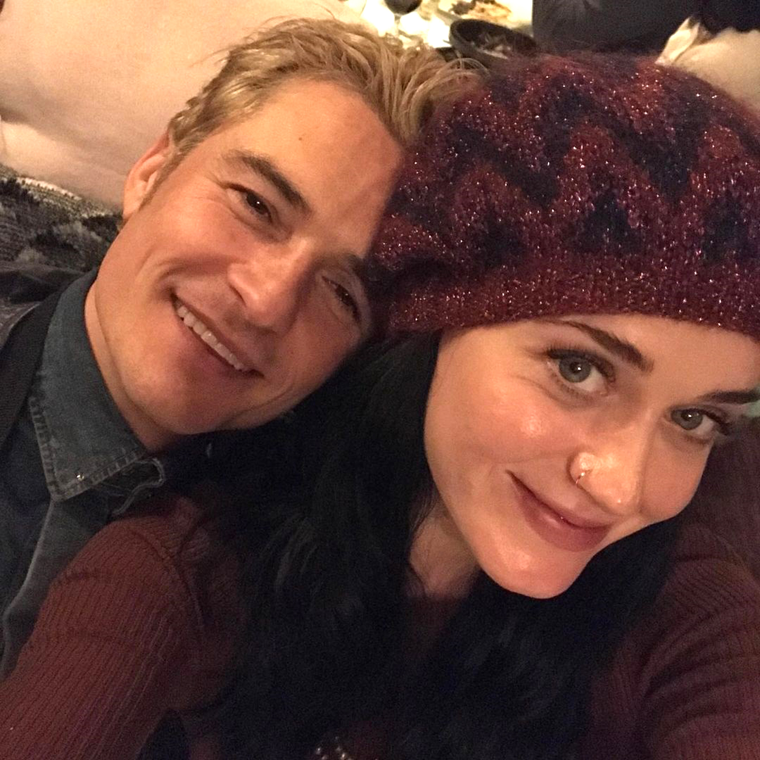 Katy Perry; Orlando Bloom