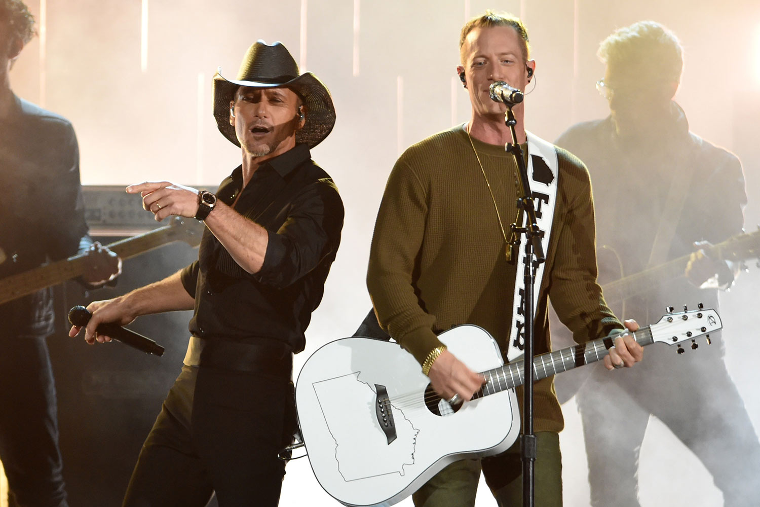 Tim McGraw and Tyler Hubbard