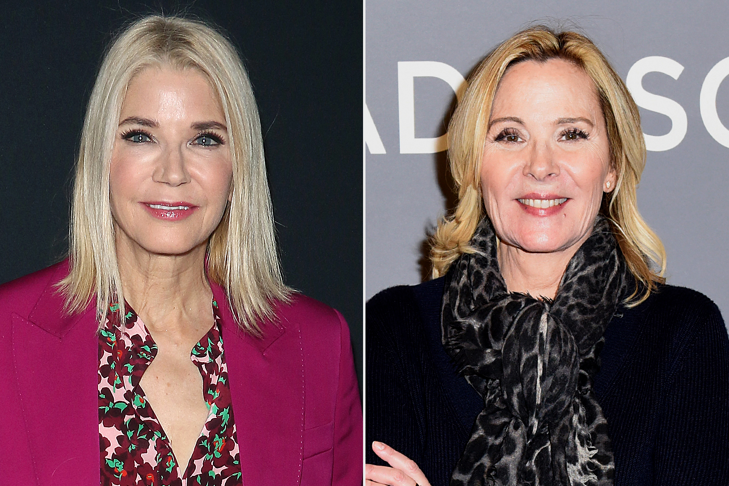 Candace Bushnell; Kim Cattrall