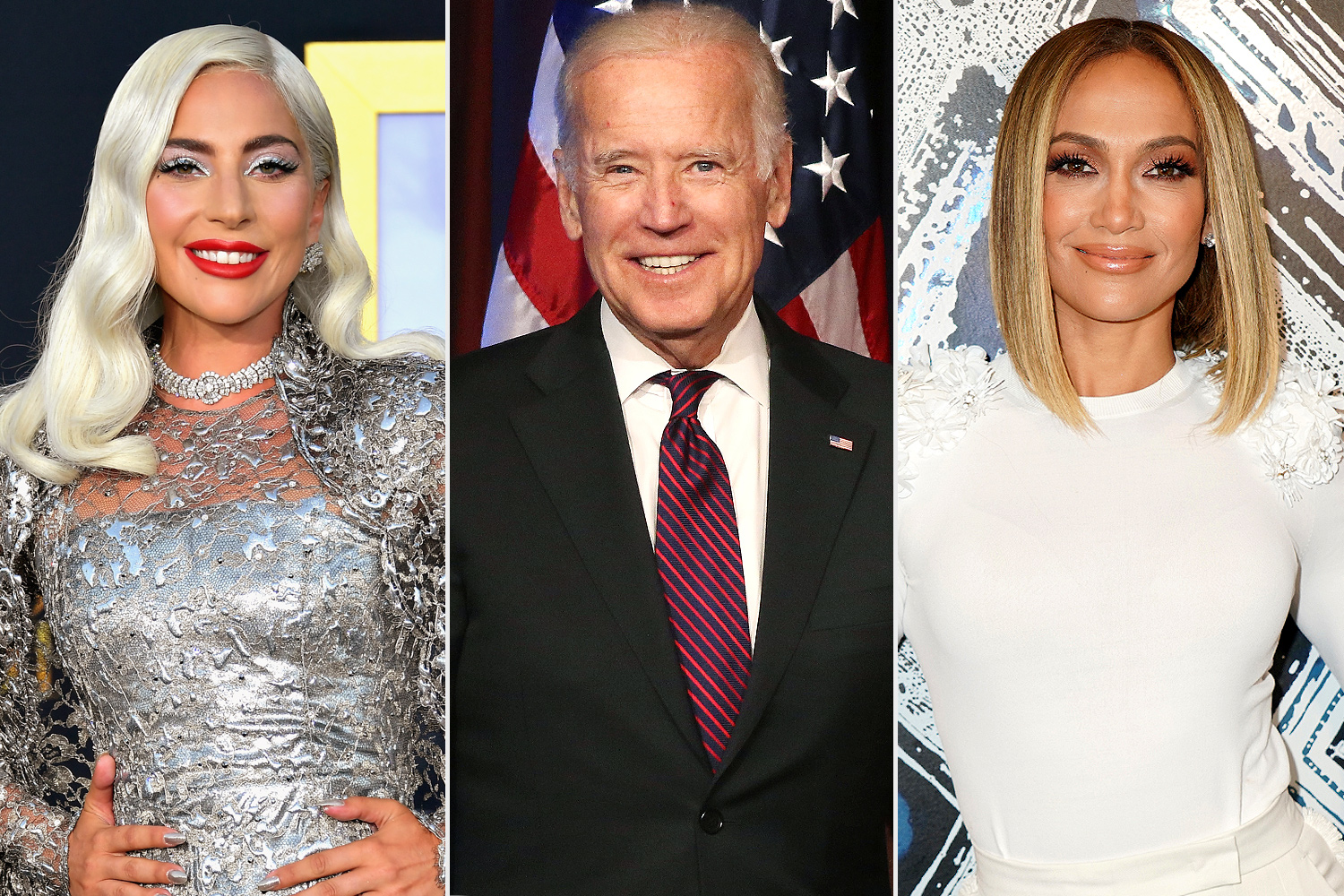 lady gaga, joe biden, jennifer lopez