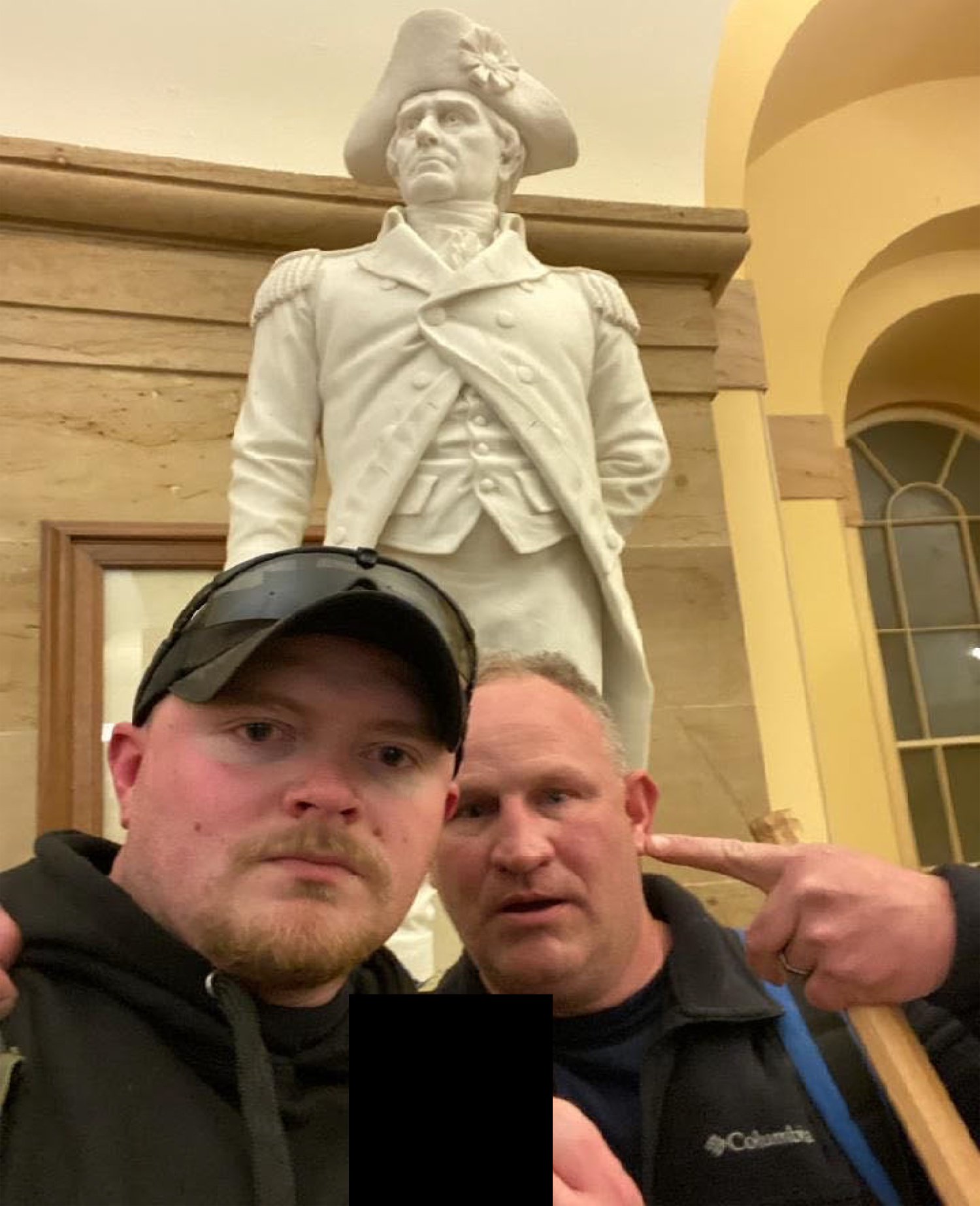 Thomas Robertson and Jacob Fracker, of the Rocky Mount Police Department, were charged in connection with the storming of the Capitol building