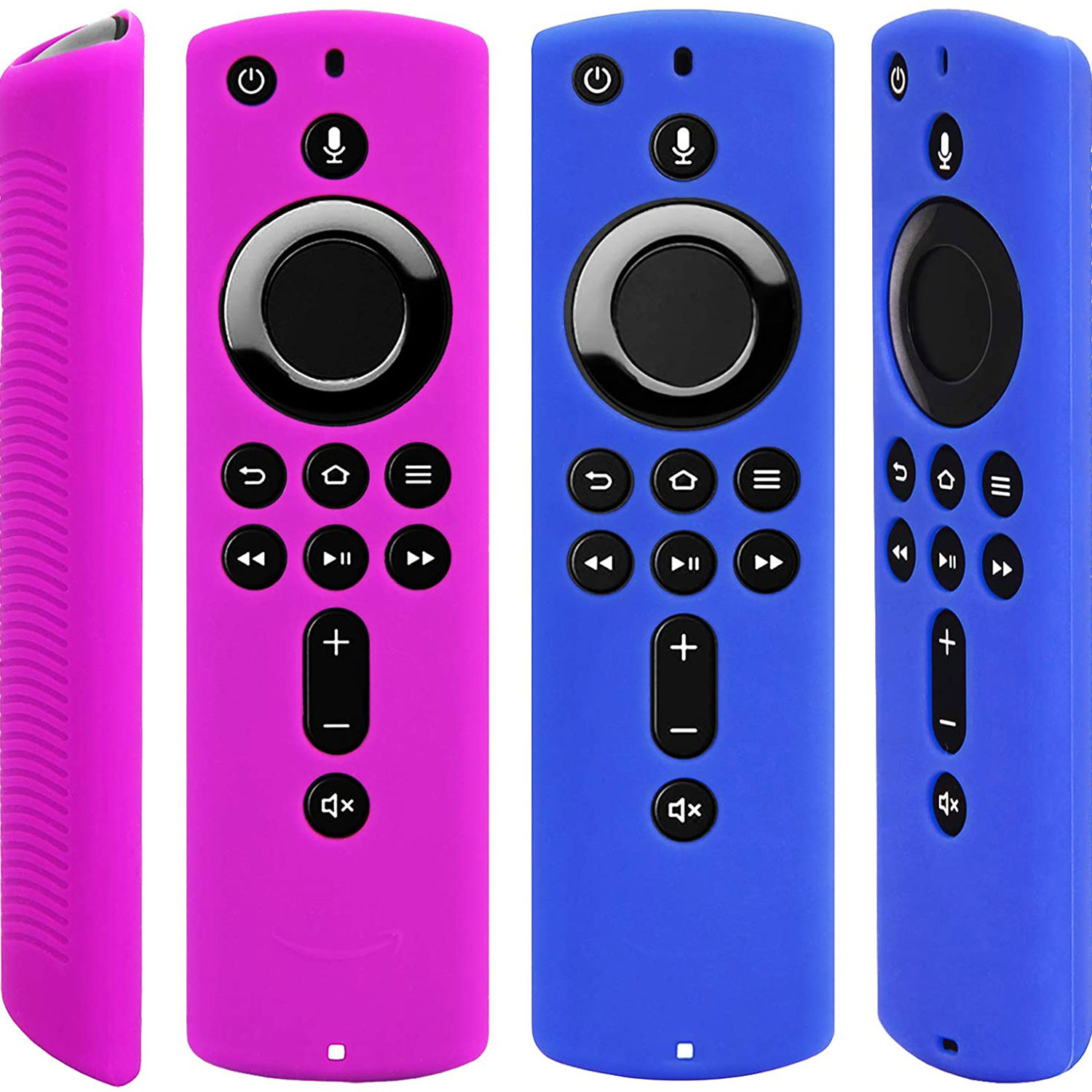 Pinowu Silicone Protective Fire TV Stick Remote Case Two-Pack
