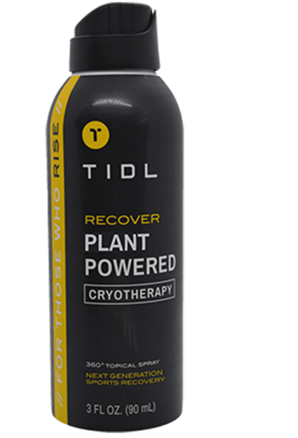 Conor McGregor TIDL Recover Plant Powered Cryotherapy