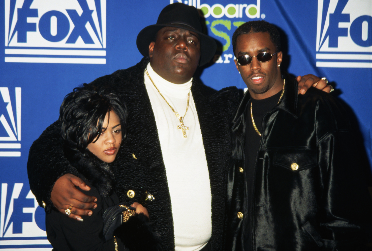 """Little Kim; The Notorious B.I.G; Sean """"Puffy"""" Combs"""