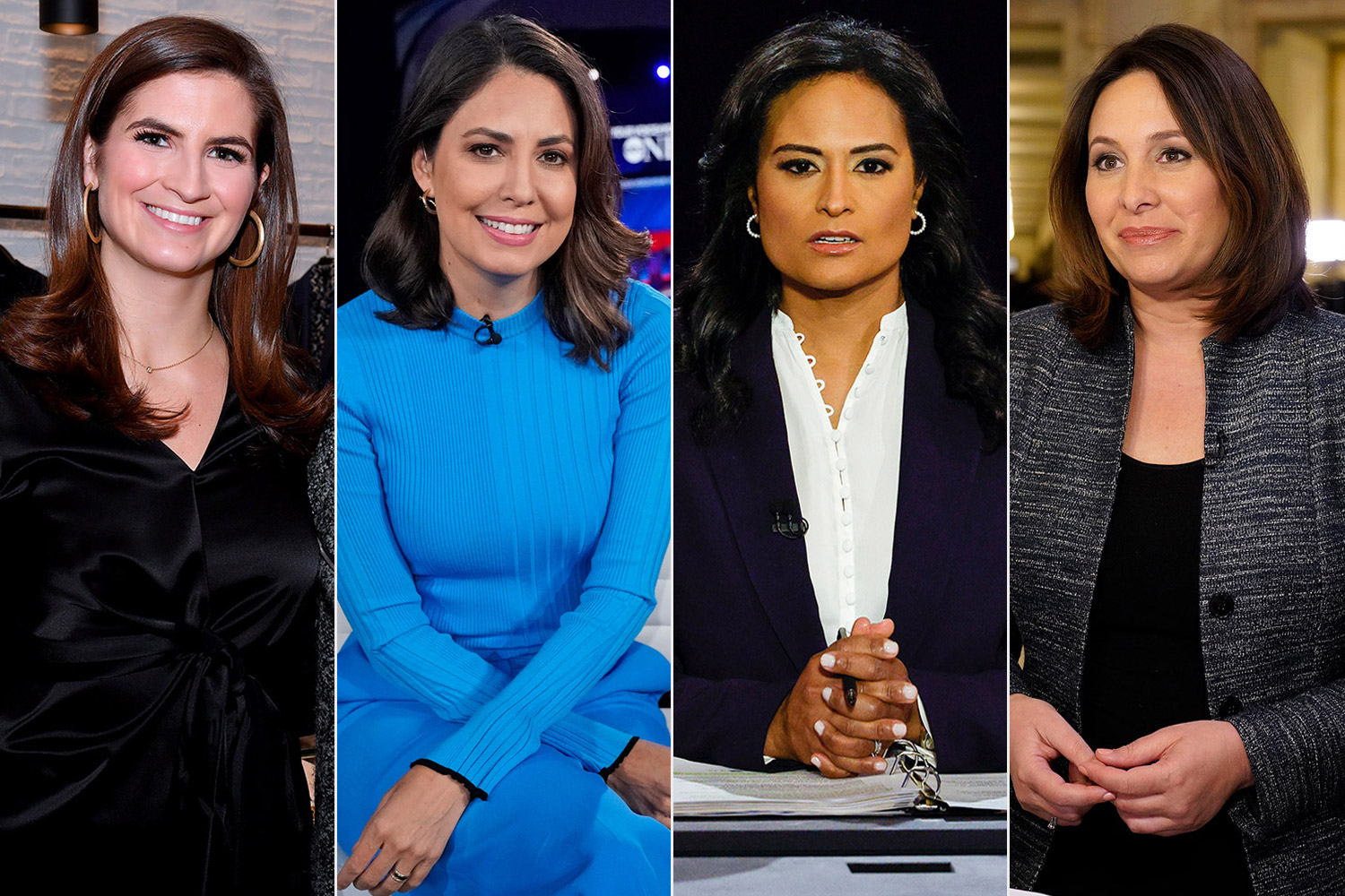 Cecilia Vega, Kaitlan Collins, Nancy Cordes and Kristen Welker