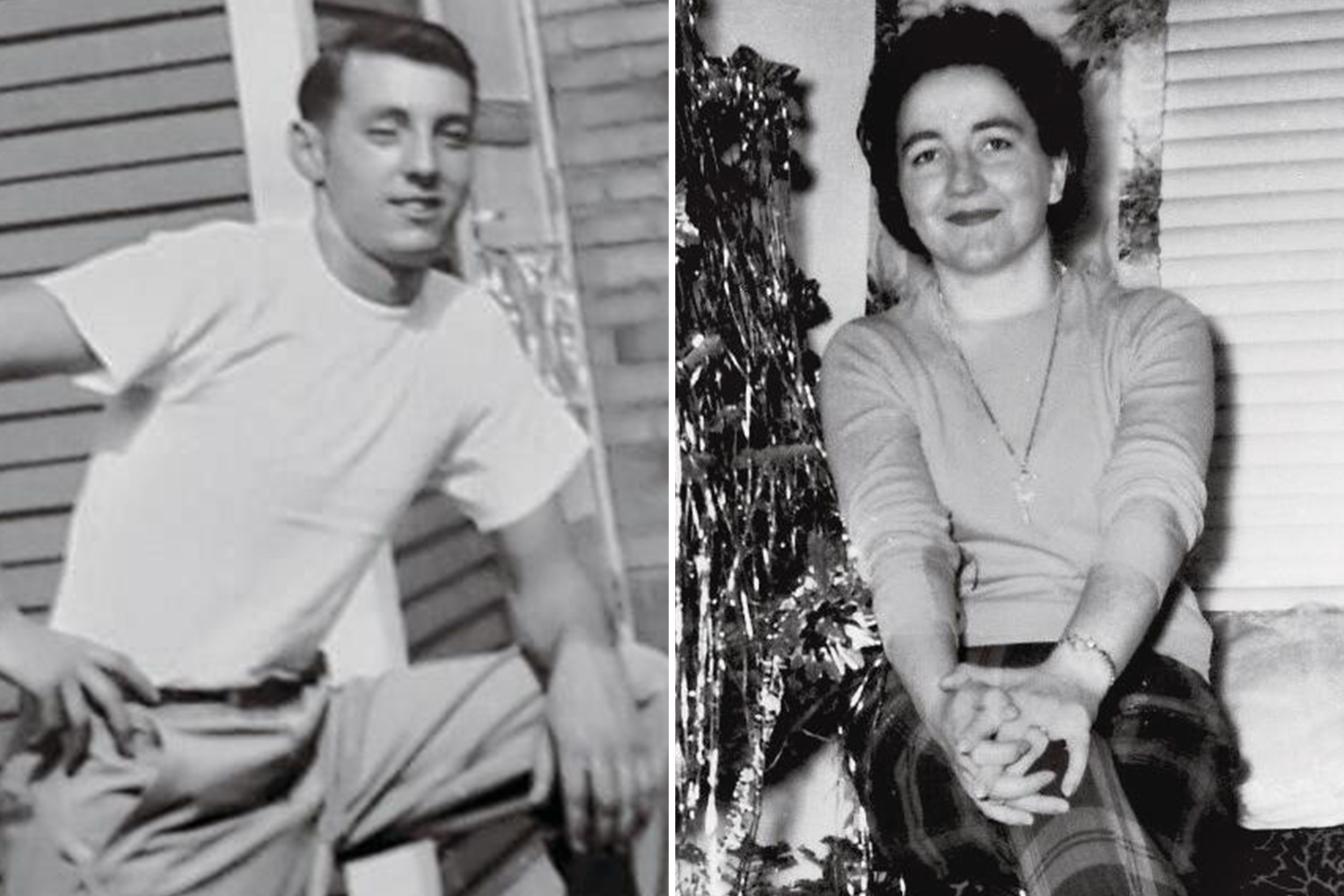florence Harvey and fred Paul when they were young