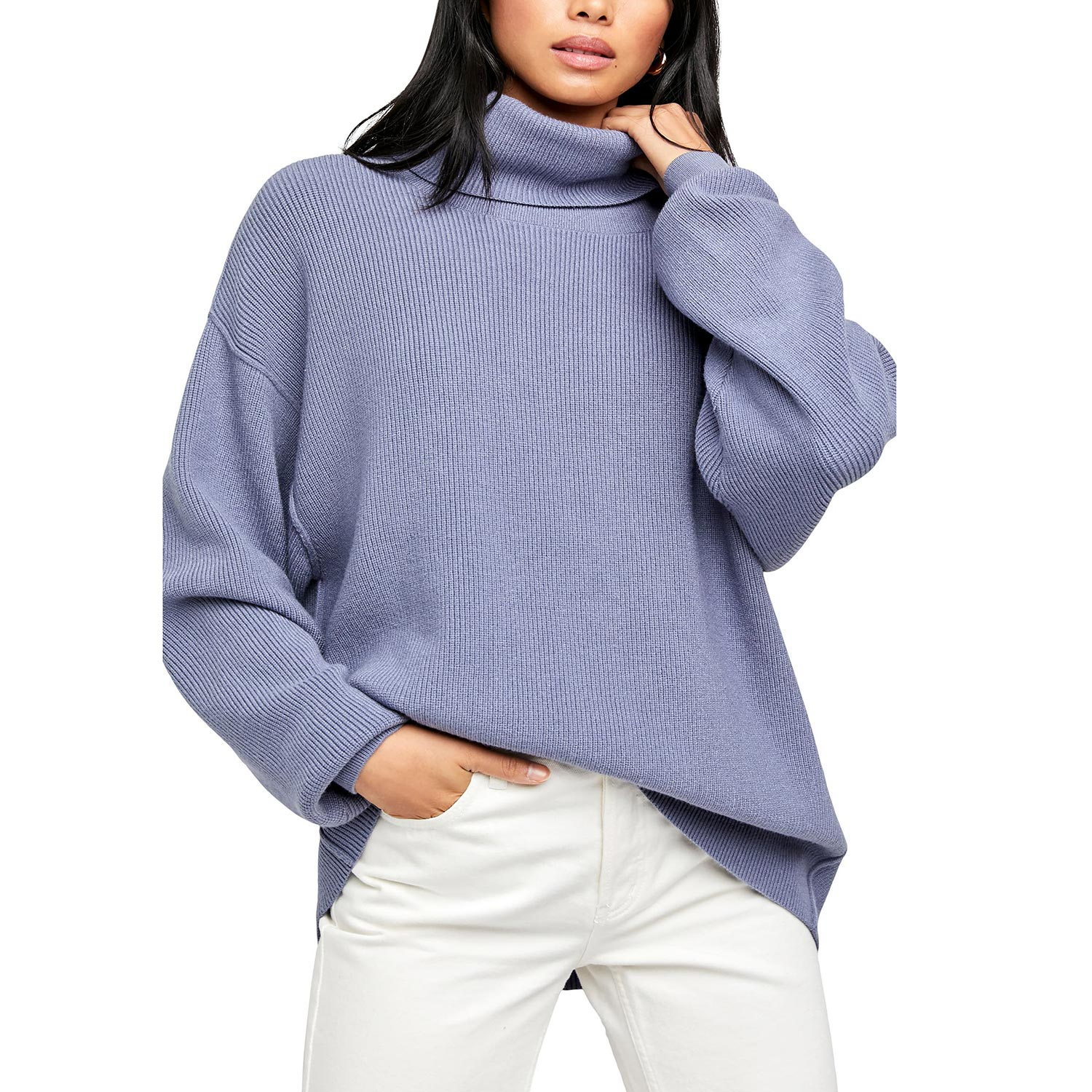 Softly Structured Knit Tunic FREE PEOPLE