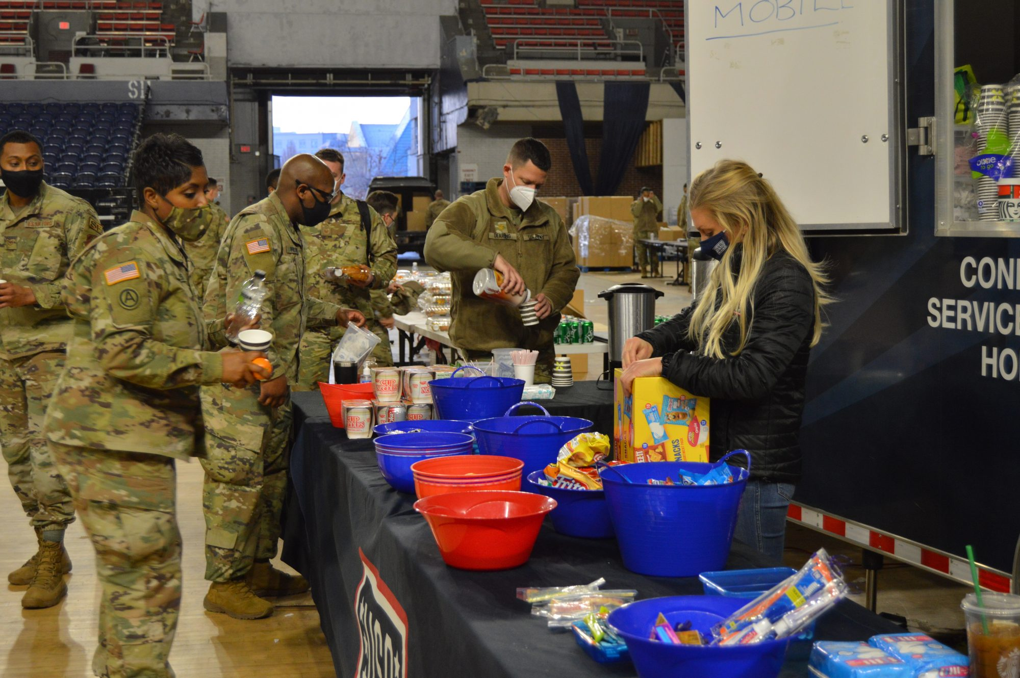 USO and National guard
