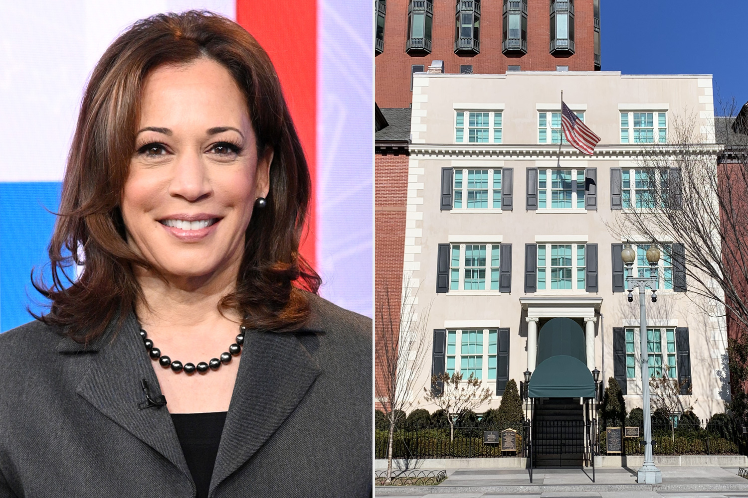 Kamala Harris Blair House