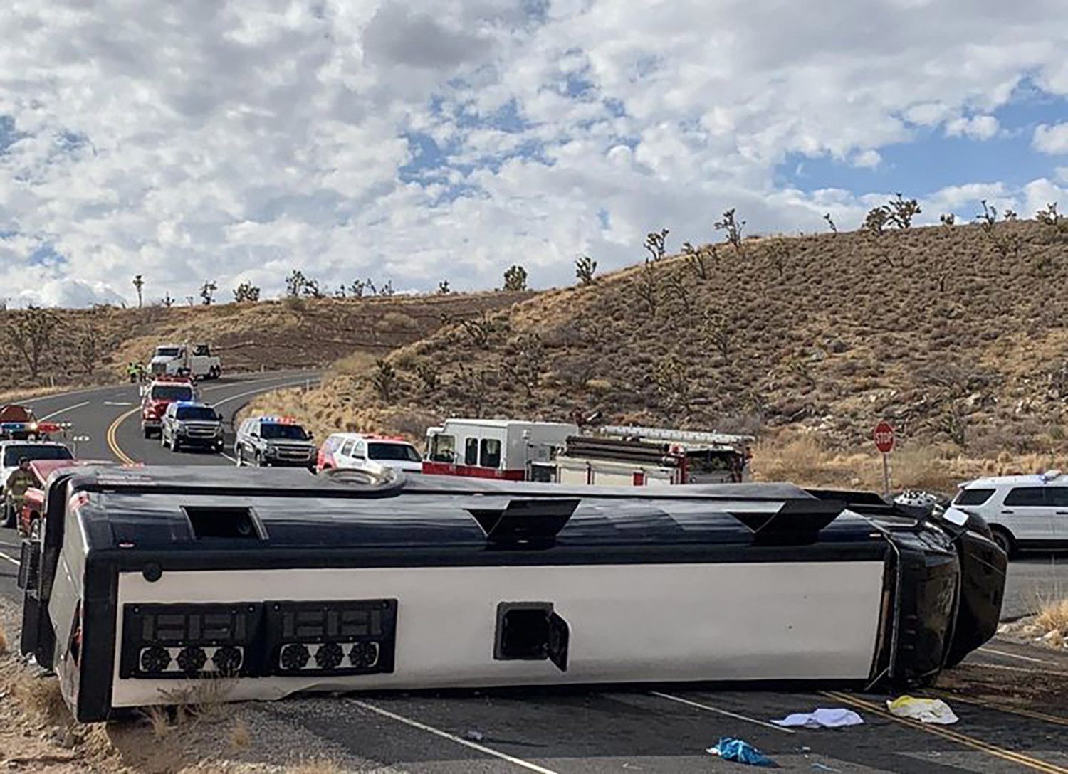 Tour Bus Grand Canyon Leaves At Least 1 Dead