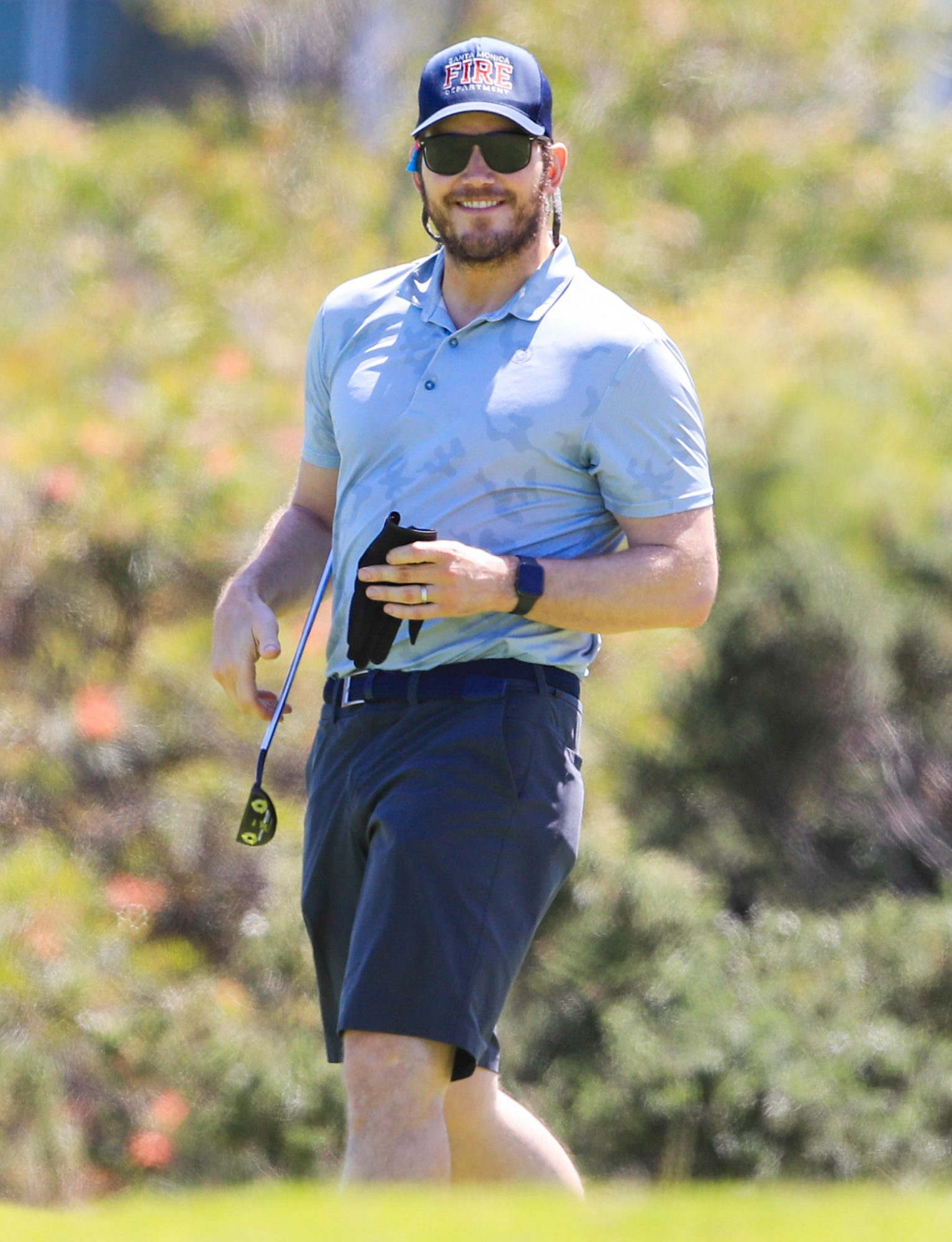 Chris Pratt Having A TEE-Riffic Time In Sydney! The Guardians Of The Galaxy Star Was Spotted Teeing Off For A Round Of Golf In Sydney
