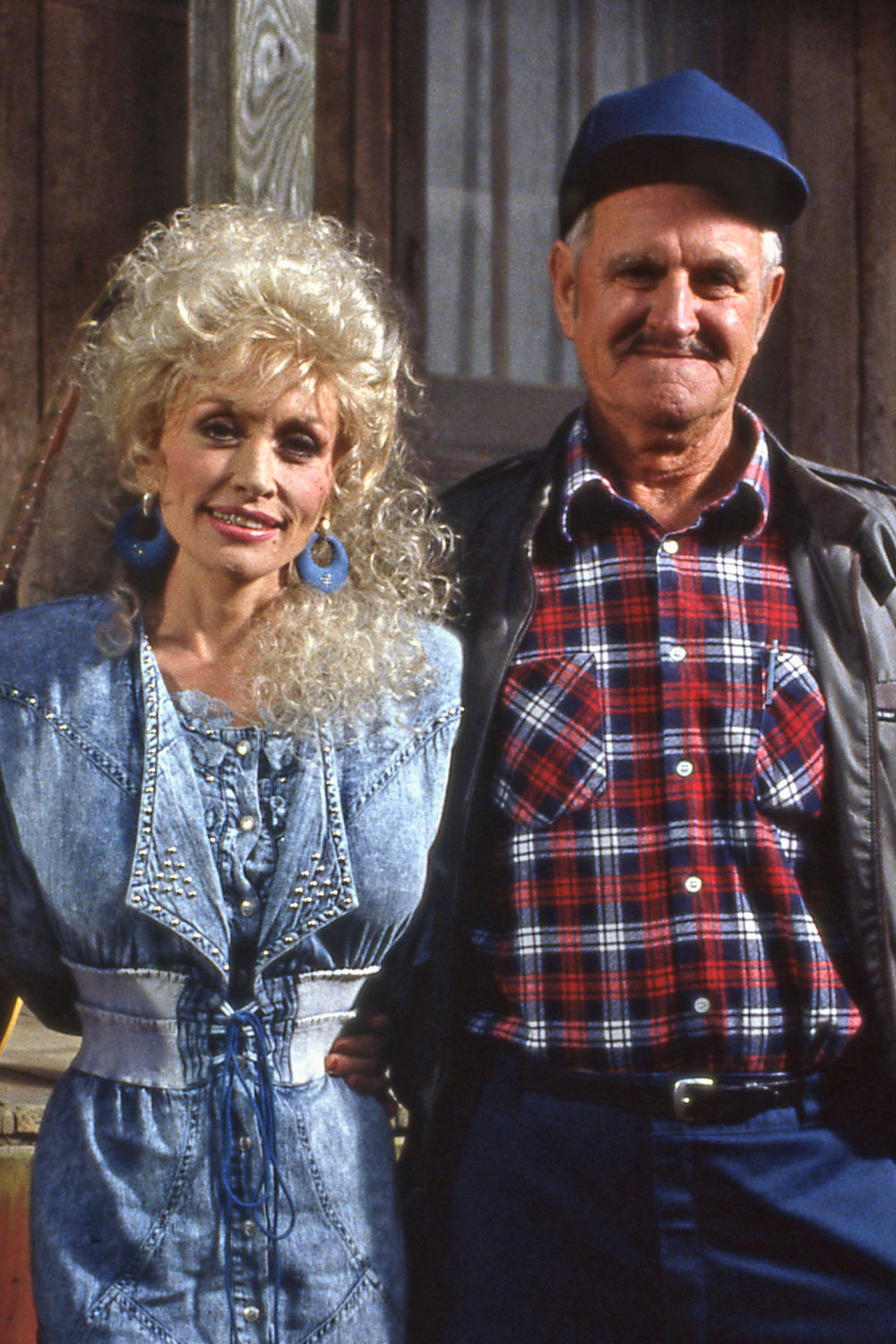 Dolly Parton and father