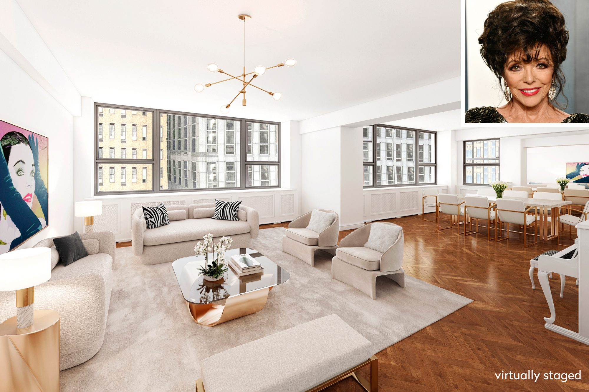 Joan Collins Sells NYC Apartment