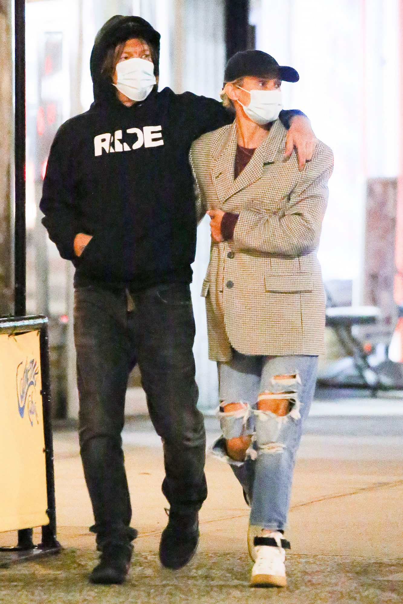 Diane Kruger and Norman Reedus spotted hugging while taking a romantic stroll.