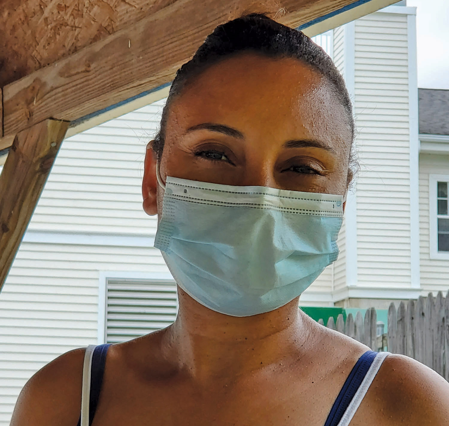 Adelina Ramos is a certified nurse's aide who works at a nursing home in Rhode Island