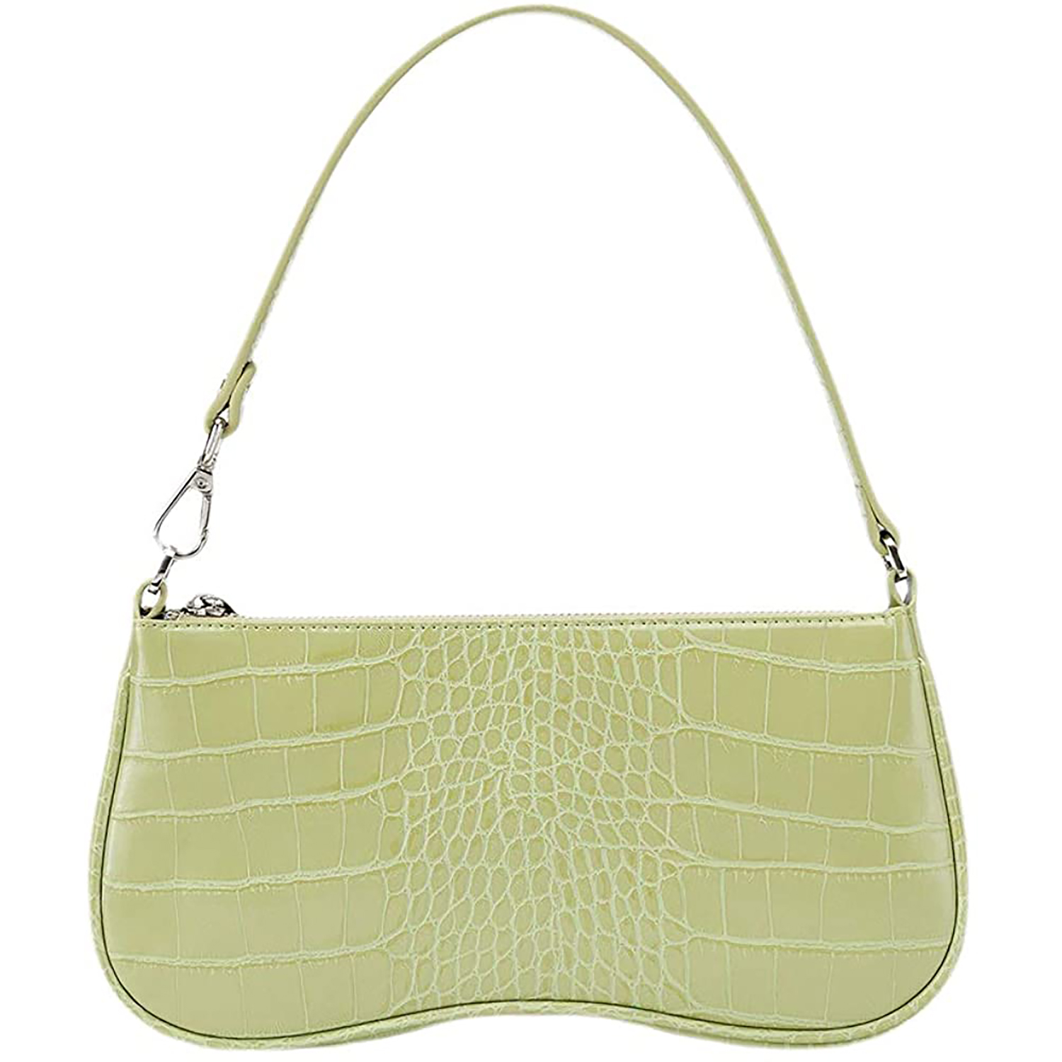 JW PEI vegan leather crocodile purse