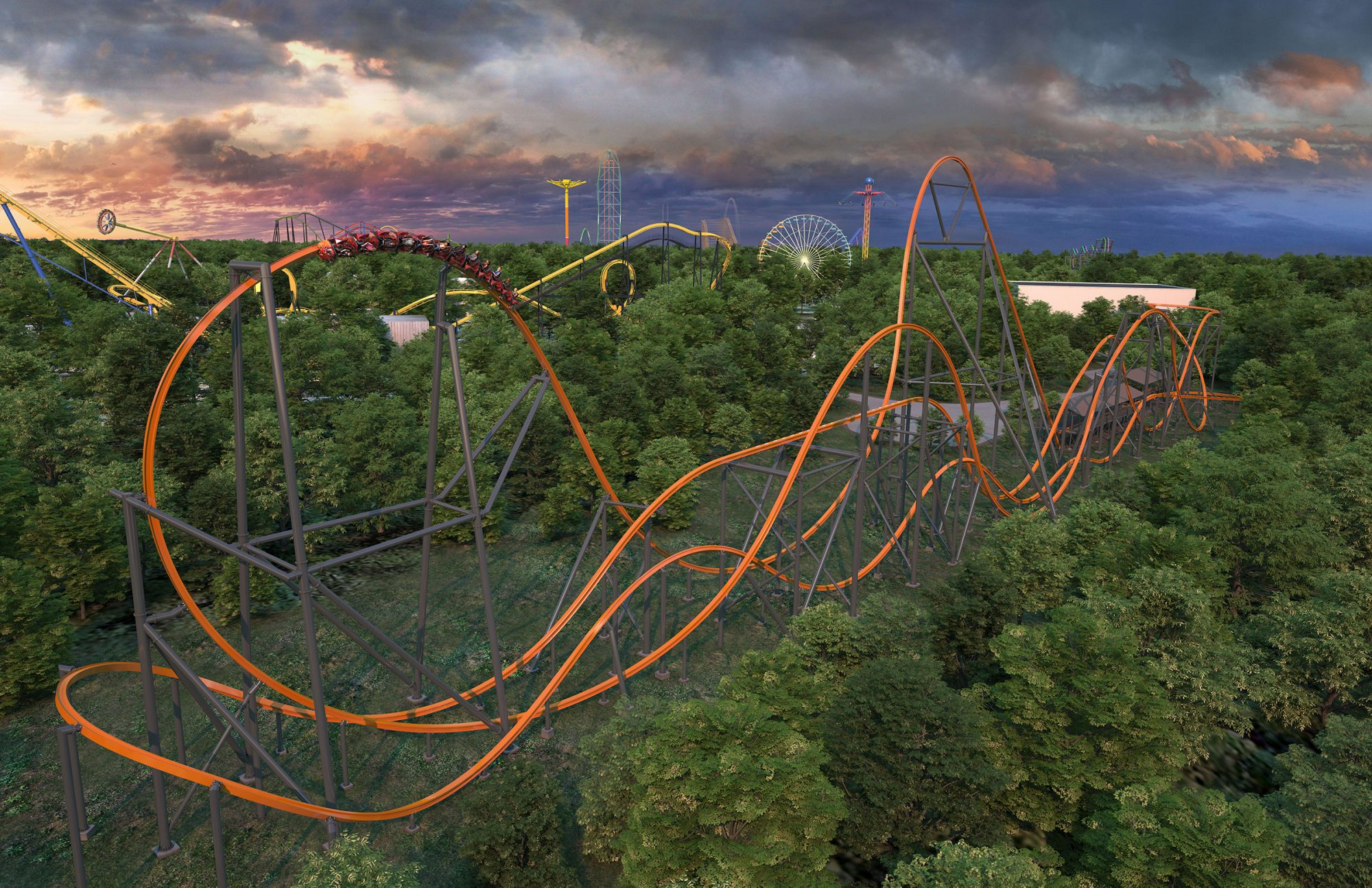 """New """"Jersey Devil"""" Ride at Six Flags"""