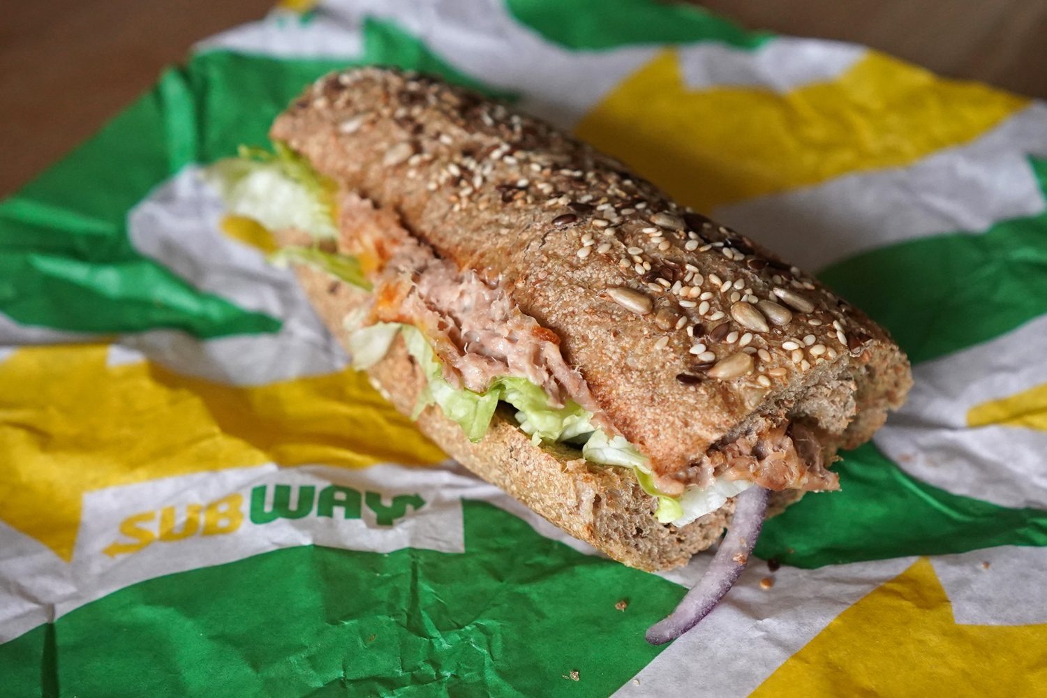 """A """"Tuna Sandwich"""" from the fast food chain """"Subway"""""""