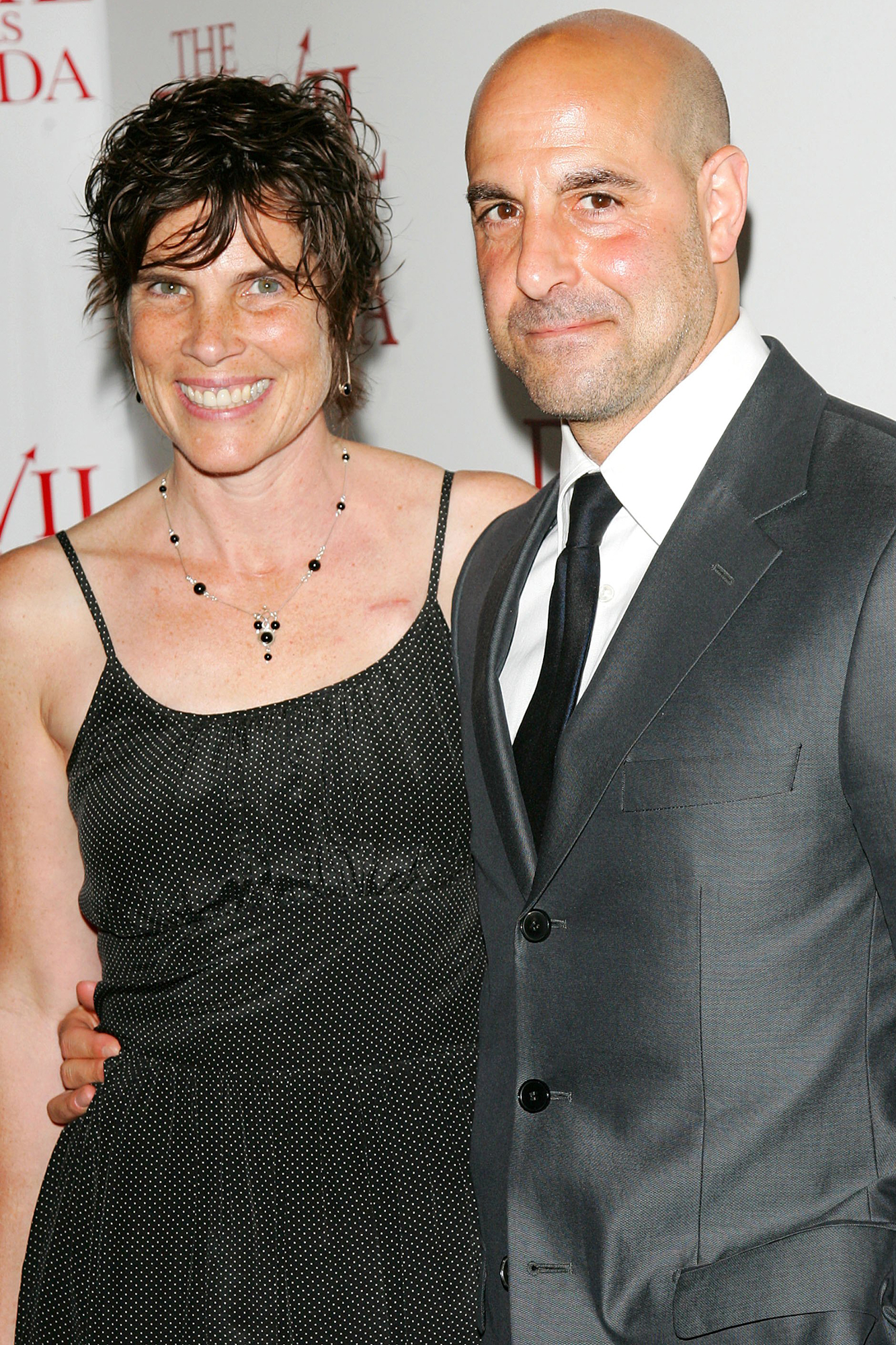 Kate and Stanley Tucci