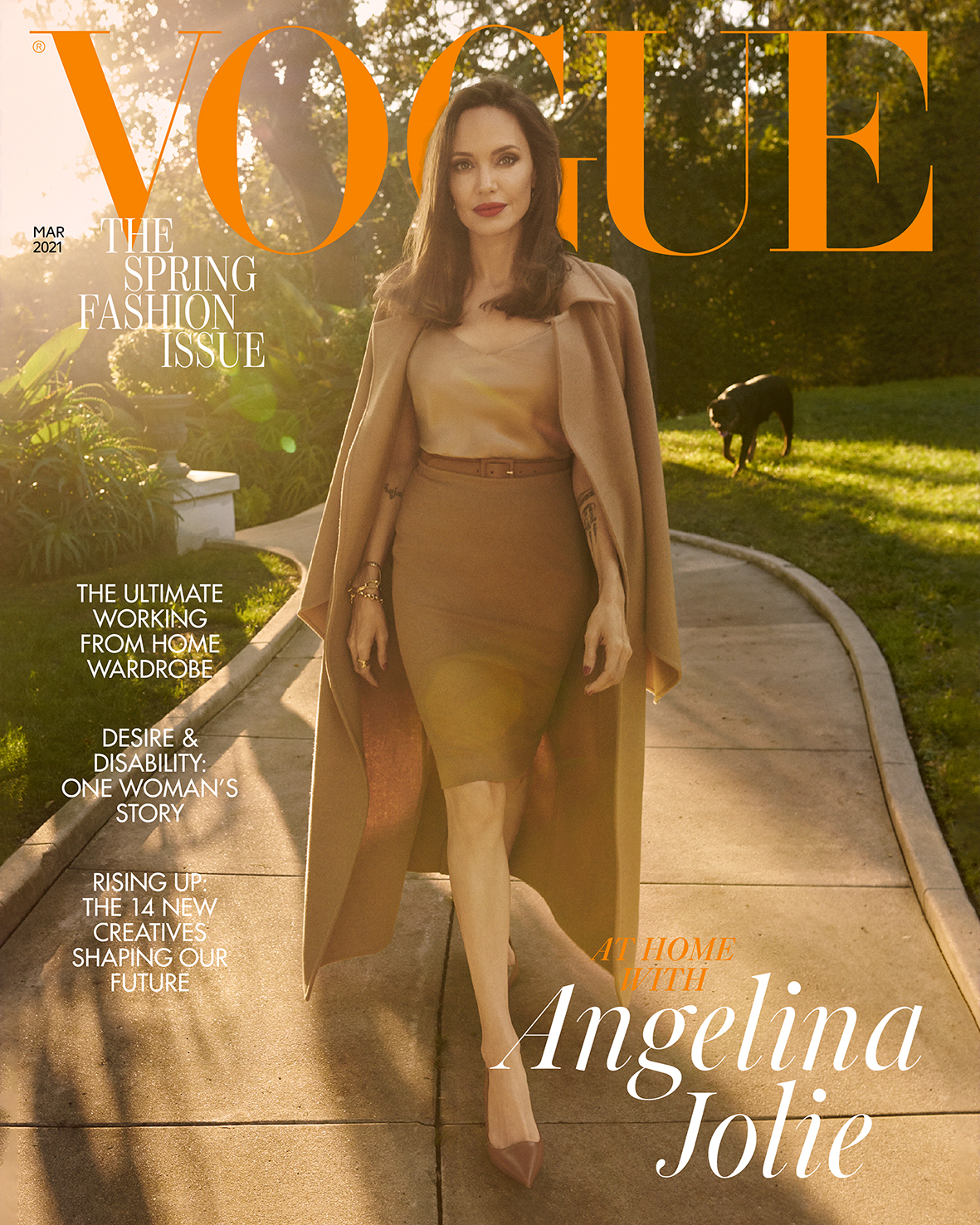 Angelina Jolie VOGUE