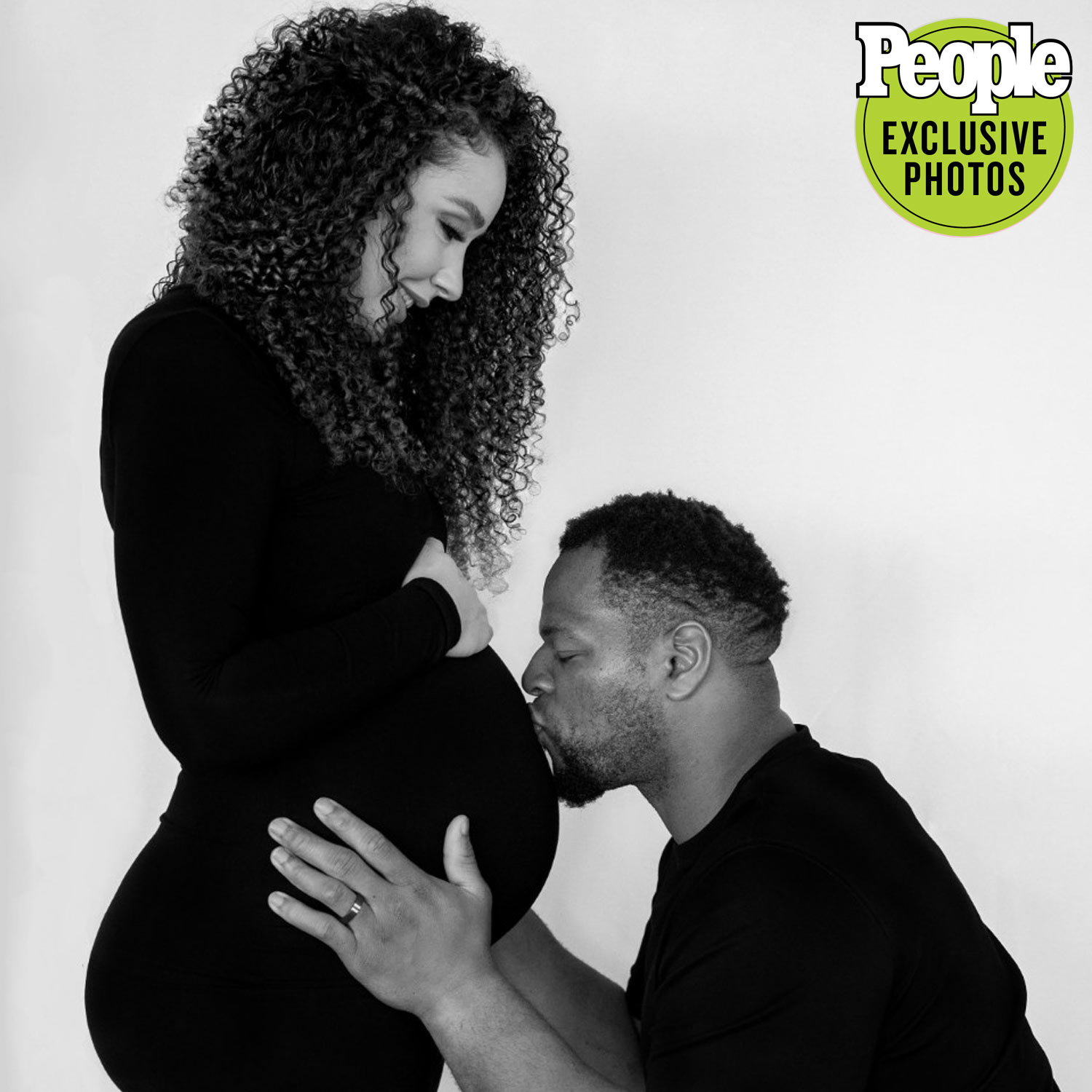 Ndamukong Suh and his Wife Katya