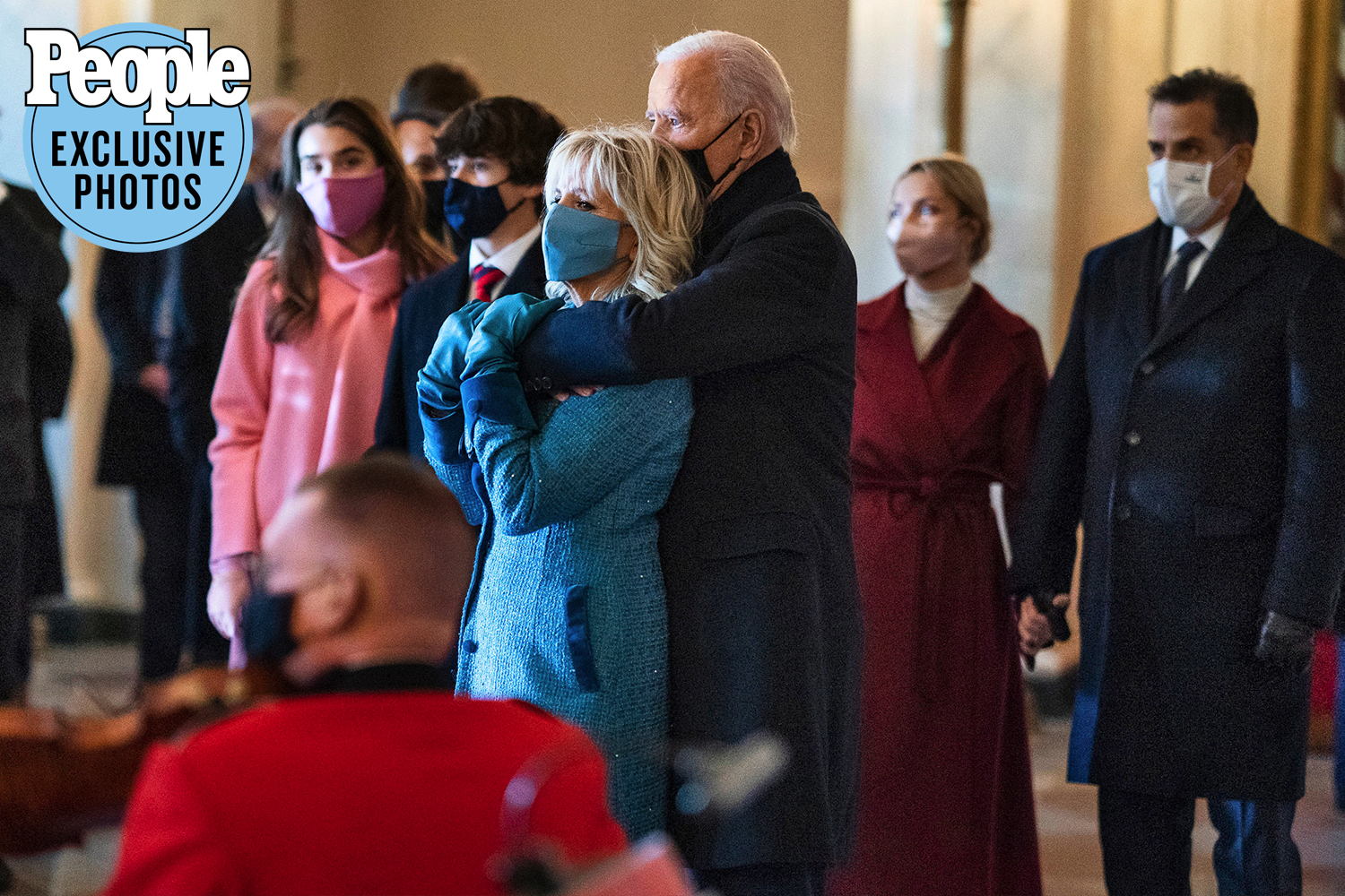 Joe Biden and family at inauguration