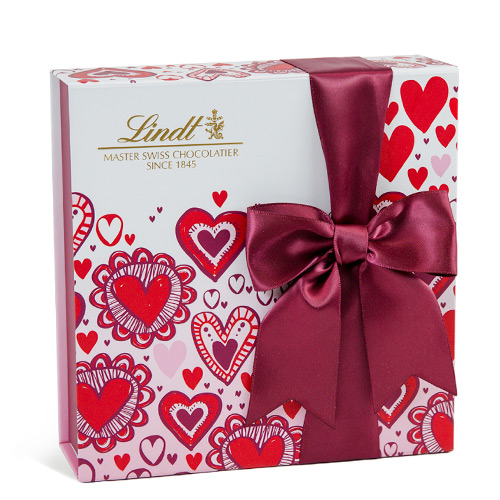 Chocolates for Valentine's Day are a classic, but this box puts a 2021 spin on the gift: You can completely customize the 40-piece box with her favorite flavors on Lindt's website.                                       Buy It! Share the Love gift box, $19.99; lindtusa.com