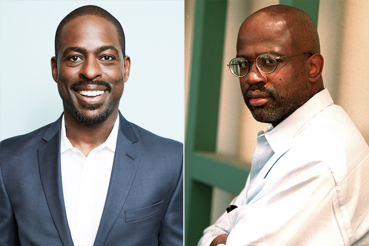 Christopher Darden and Sterling K. Brown