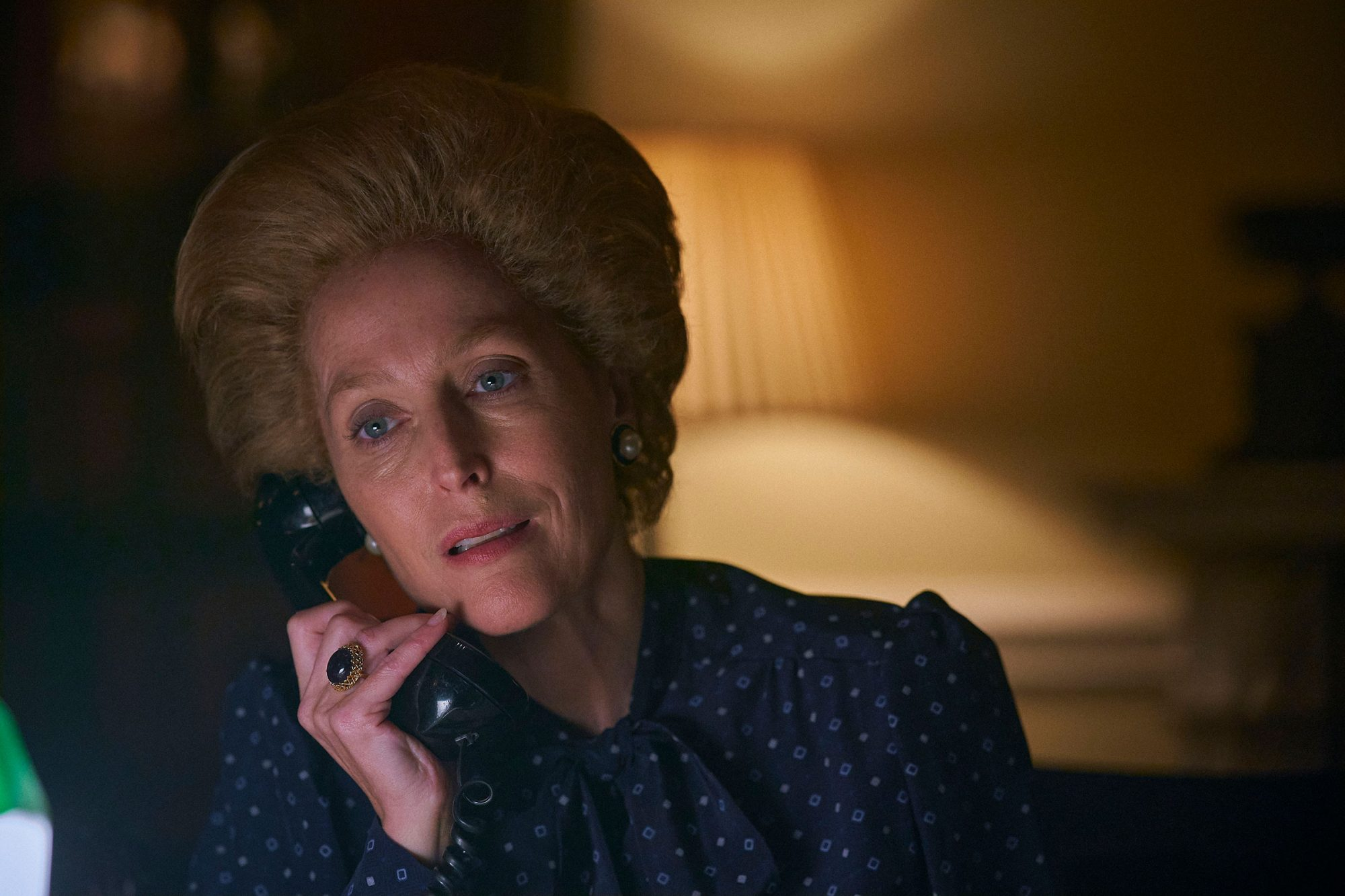 Margaret Thatcher (GILLIAN ANDERSON) The Crown