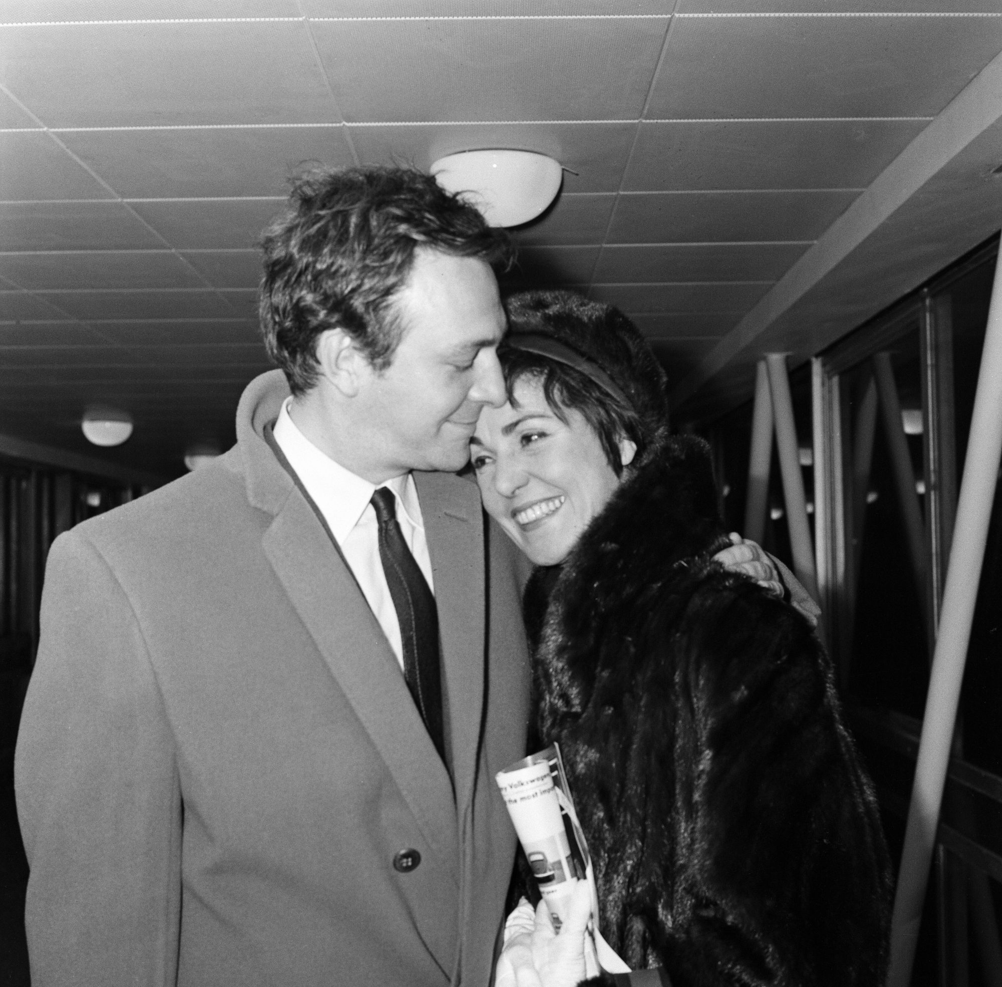 Christopher Plummer and Patricia Lewis