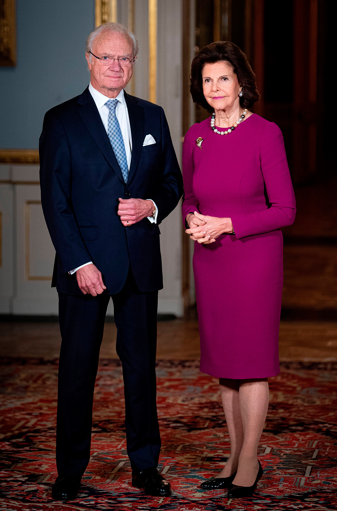 King Carl XVI Gustaf of Sweden and Queen Silvia of Sweden