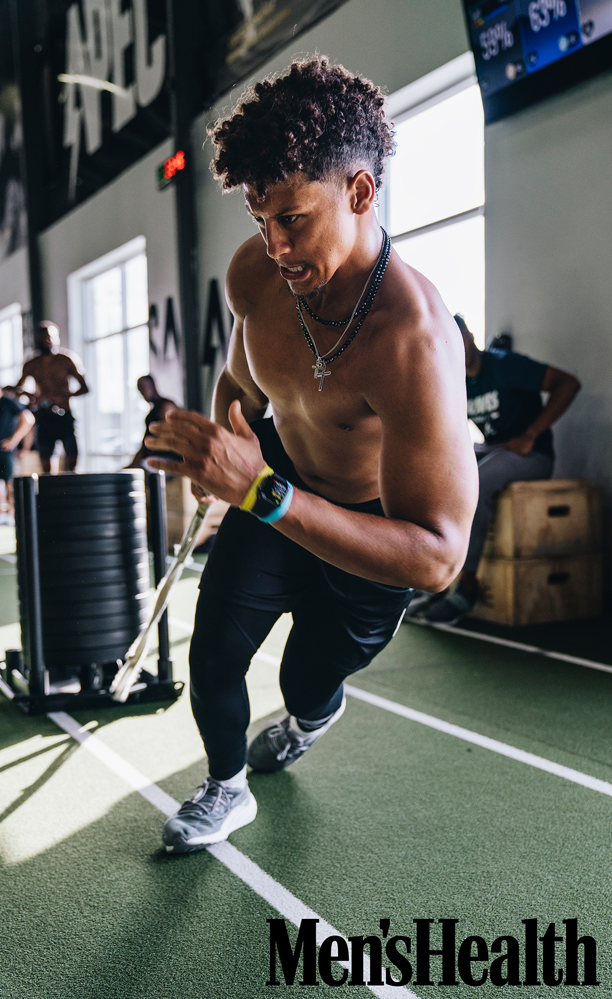 Patrick Mahomes II; Men's Health