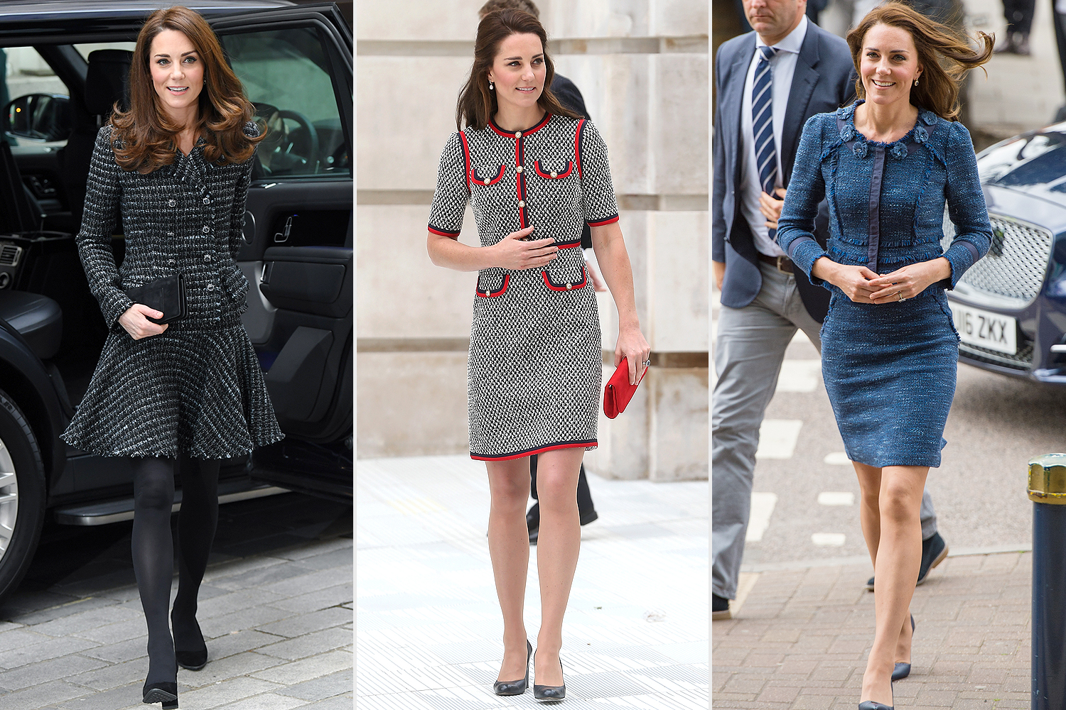 kate middleton in tweed
