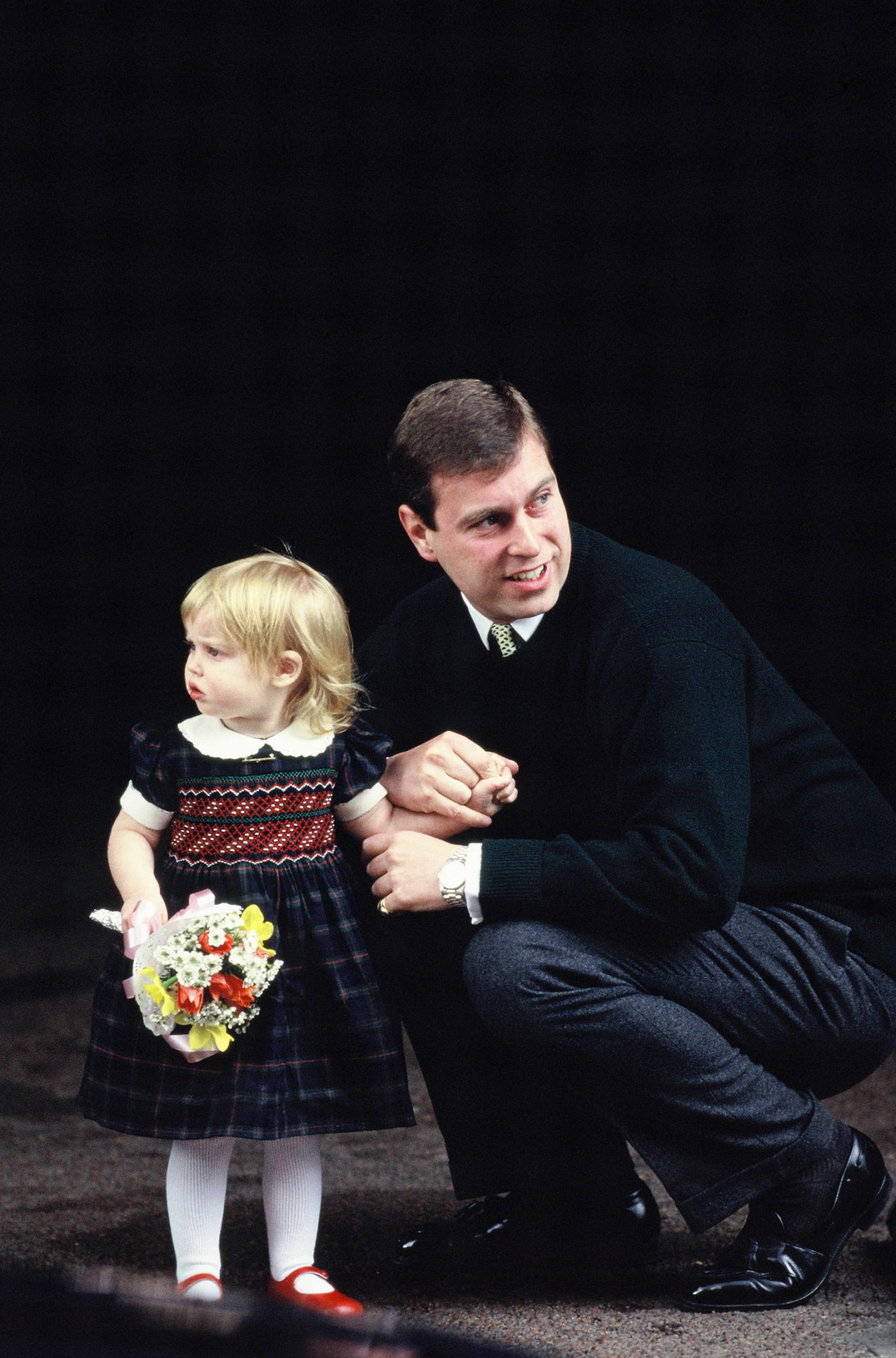 Prince Andrew, Duke of York, and his daughter Beatrice