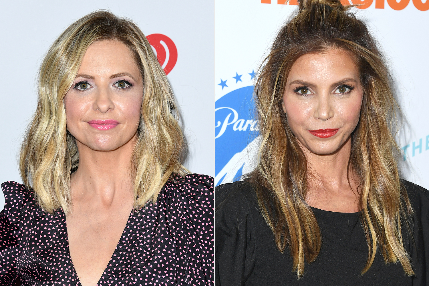Sarah Michelle and Charisma Carpenter