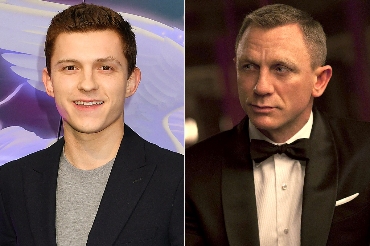Tom Holland and Daniel Craig