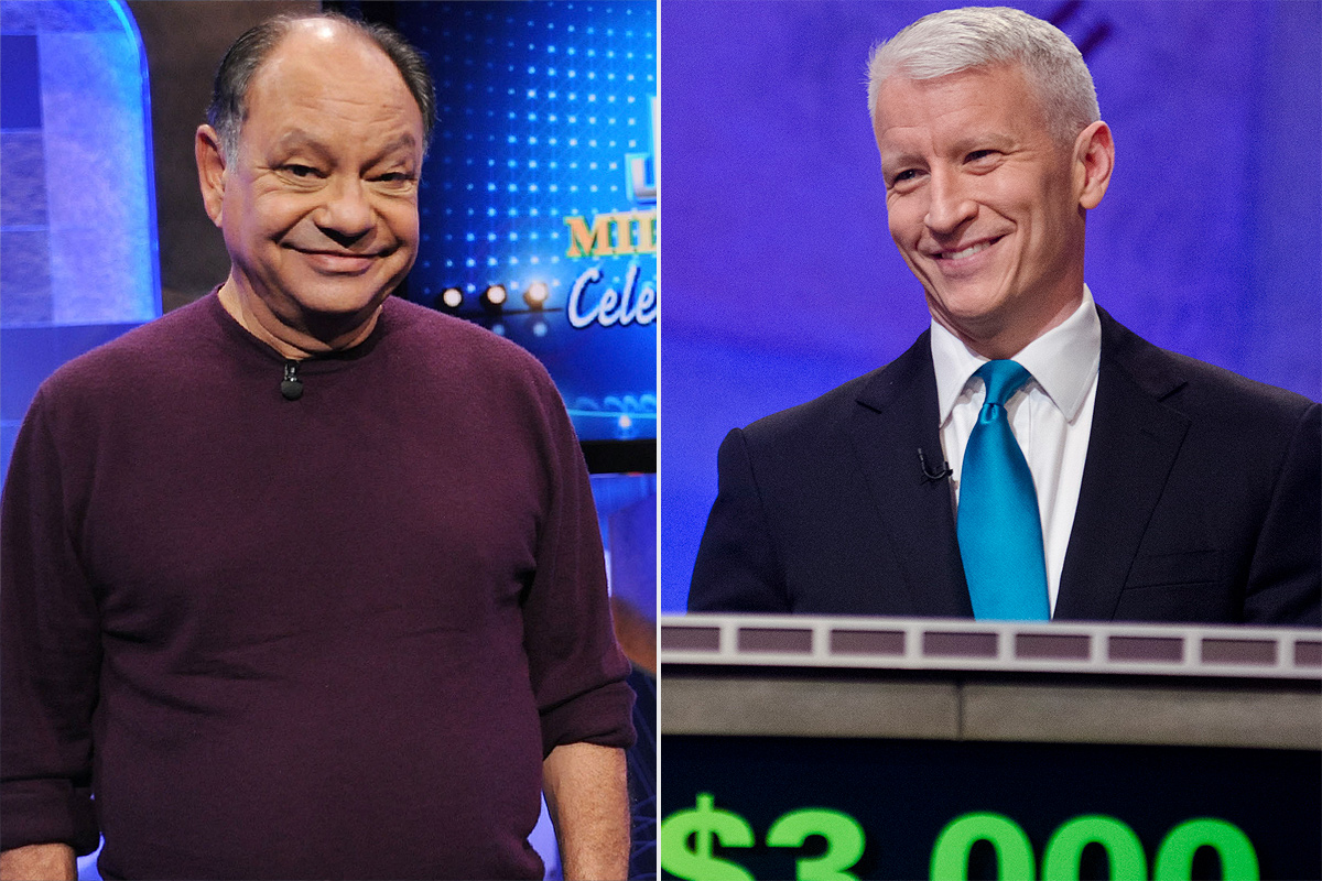 Anderson Cooper and Cheech Marin