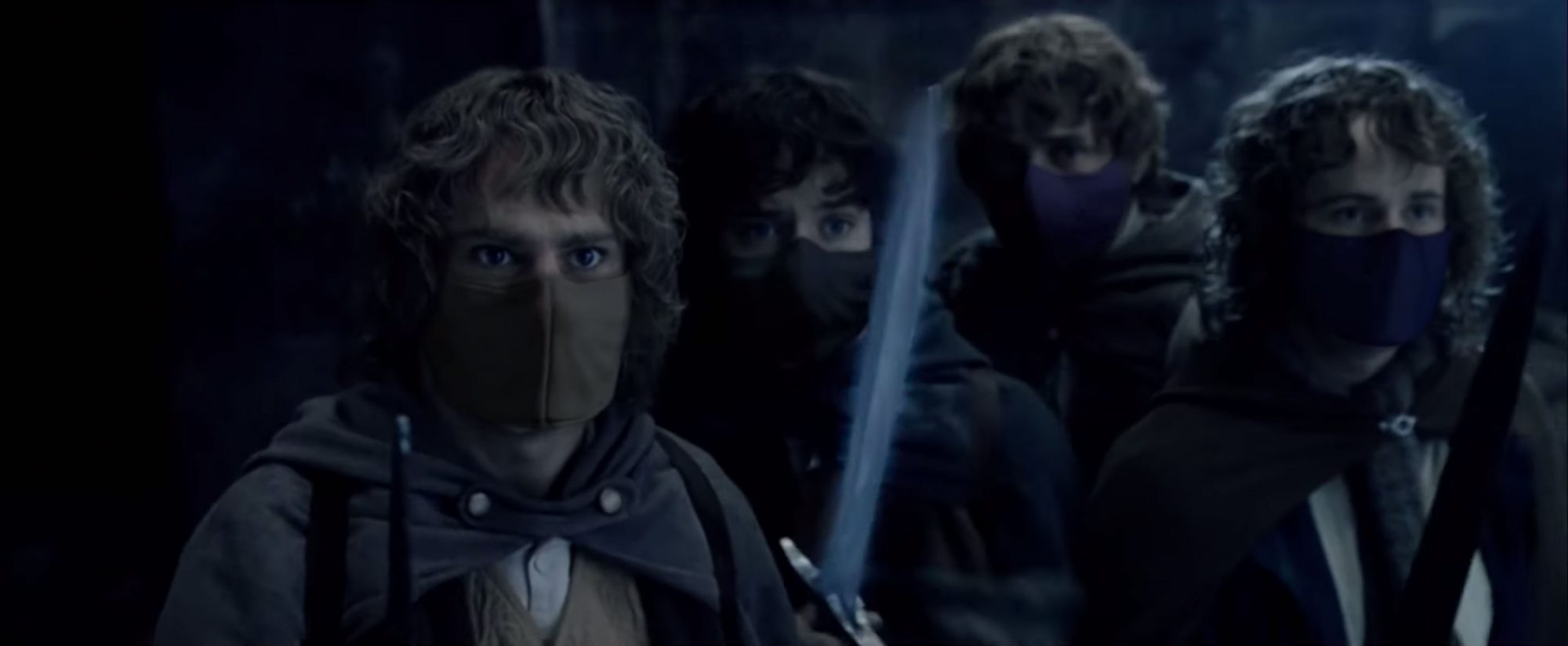 Mask Up America Lord of the Rings