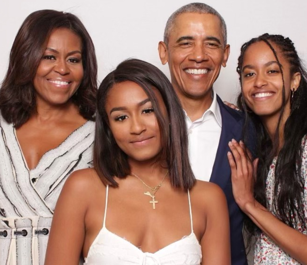 Barack Obama valentine's day message to family