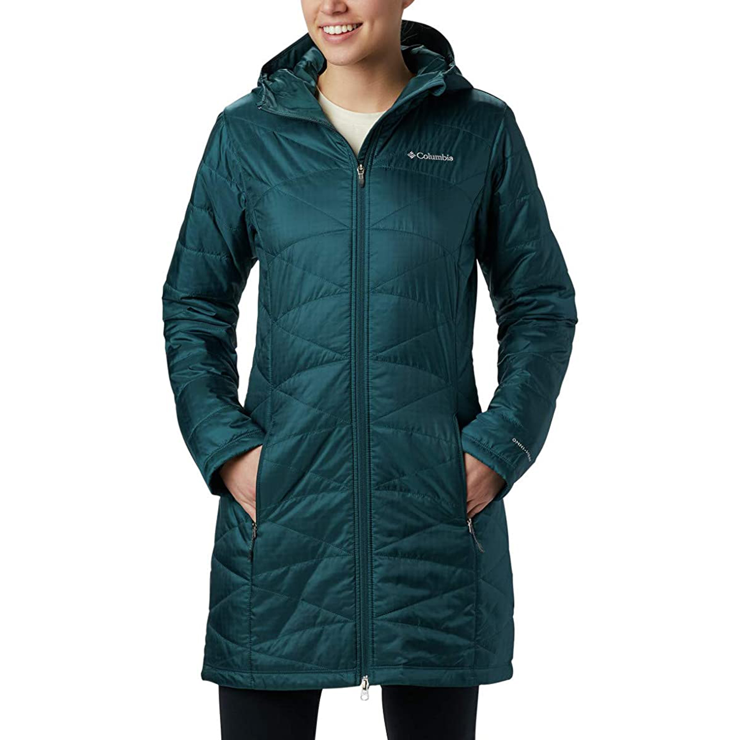 Columbia Women's Mighty Lite Hooded Jacket Coat