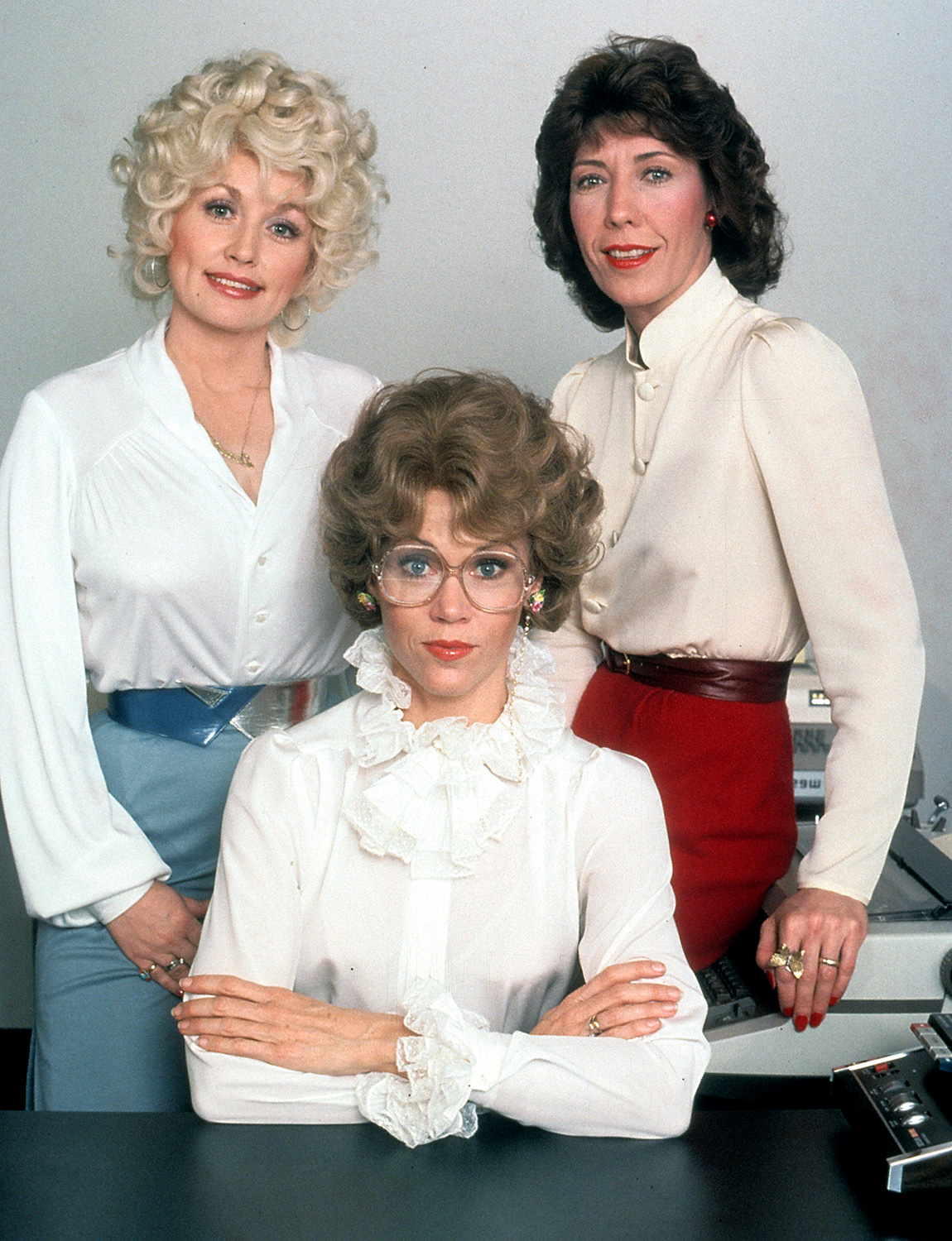 Dolly Parton, Jane Fonda And Lily Tomlin In 'Nine To Five'